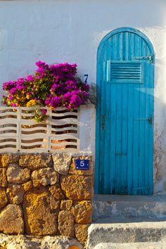 Minorca Blue Door