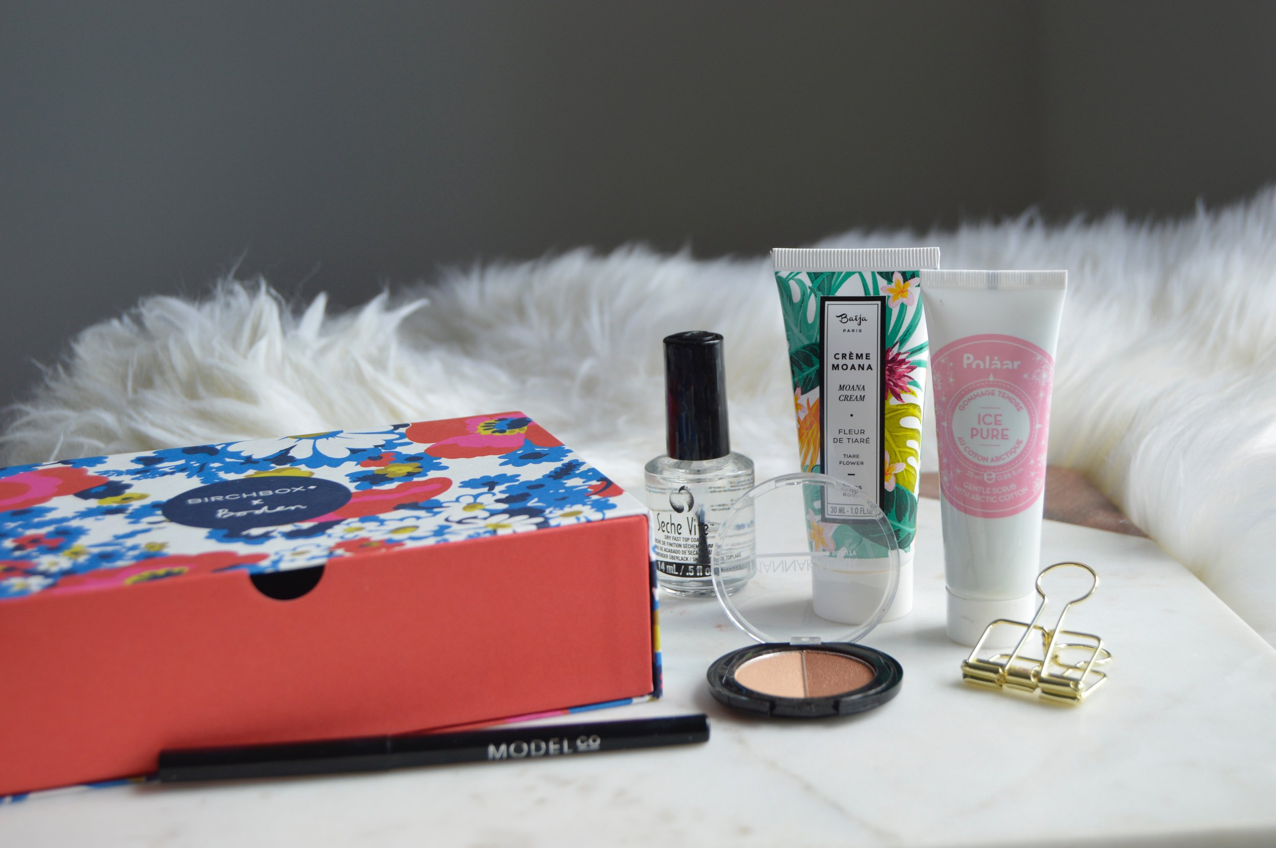 April BirchBox, Beauty Blogger Review