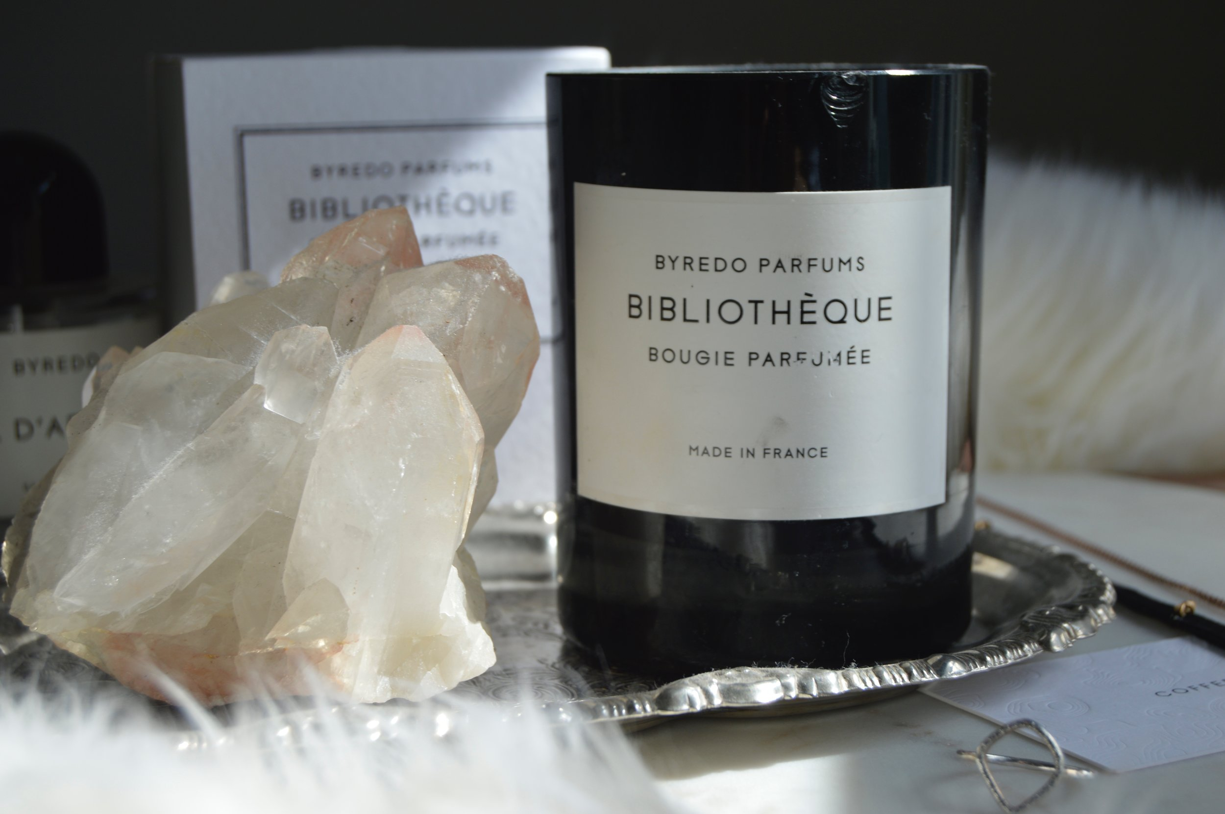 Bibliothèque Candle by Byredo, Beauty Blogger Review