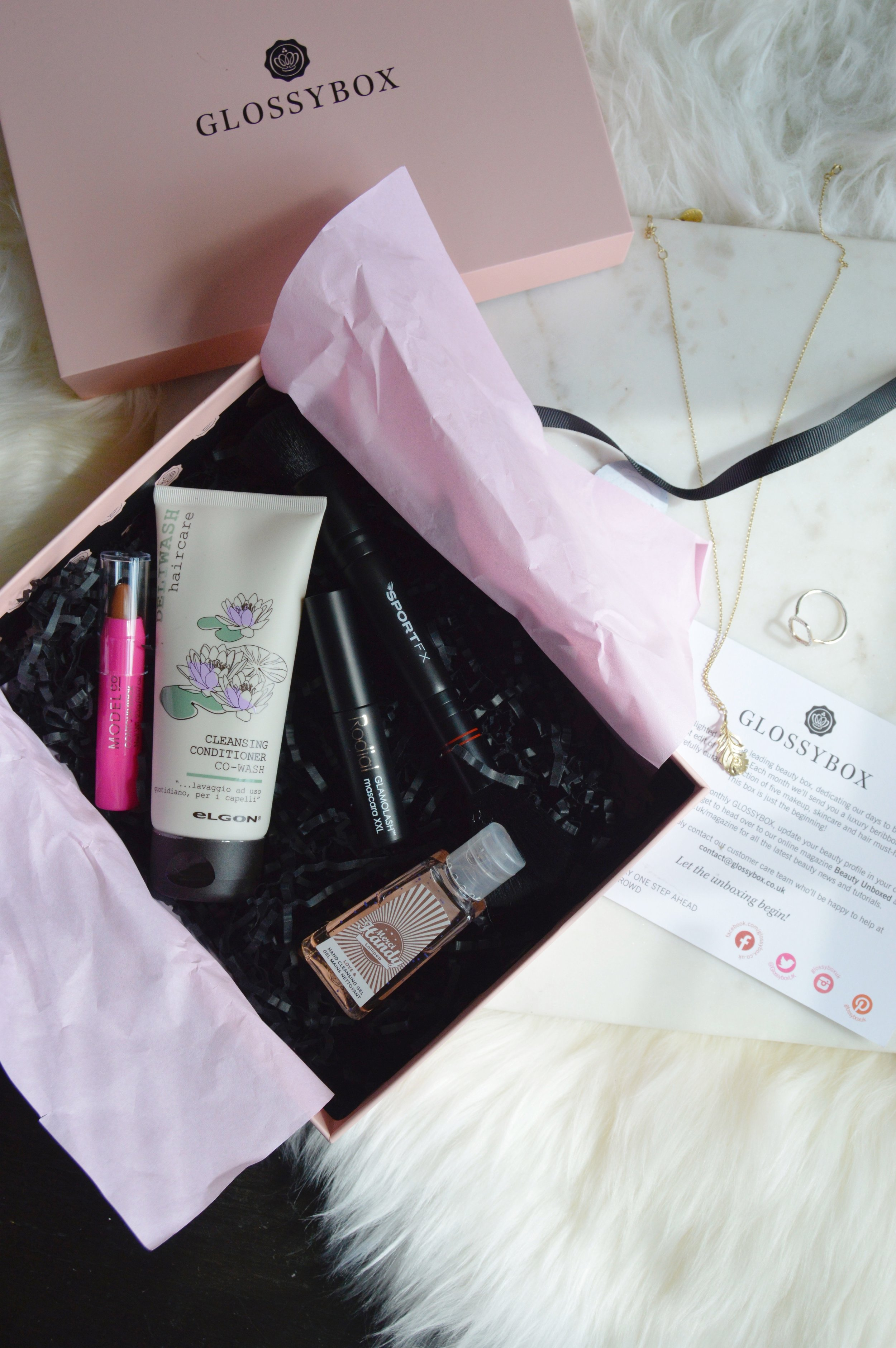 Glossybox April Review, The Creative Larder