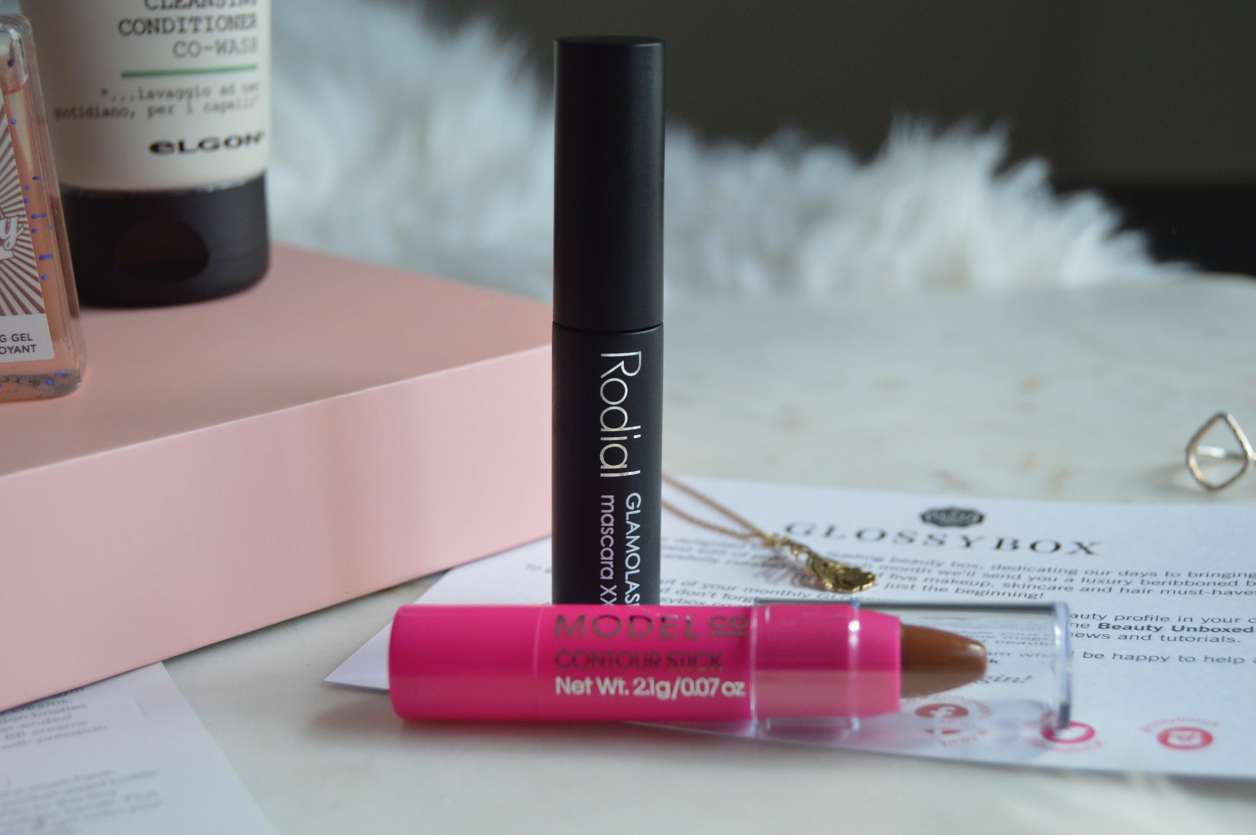 Radial Glamolash Mascara in Glossybox UK April edition.