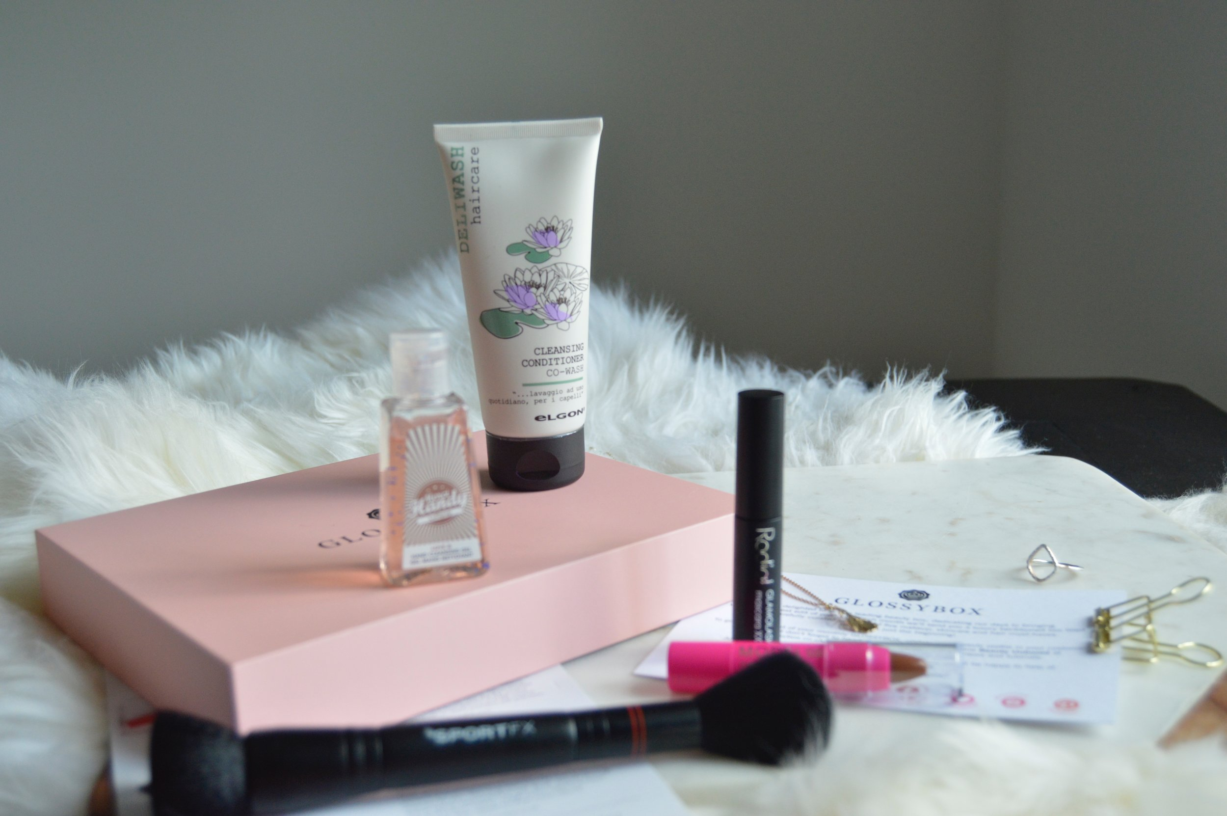 Glossybox April unboxing and review. Beauty Blogger and Writer The Creative Larder