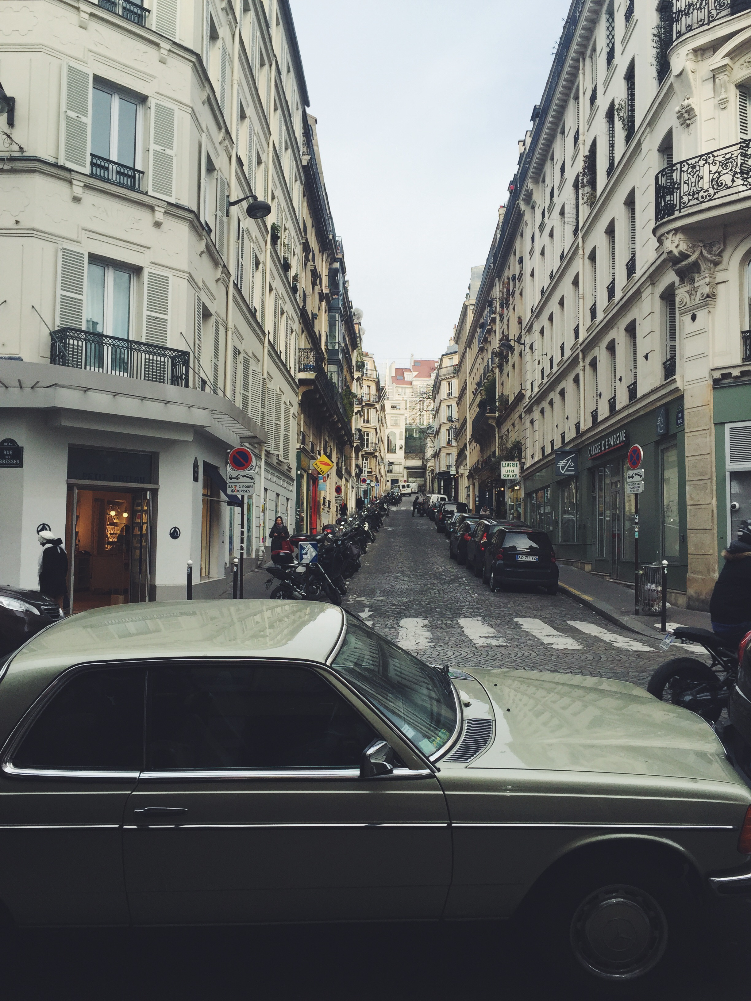 Streets in Paris, The Creative Larder, Travel Writer