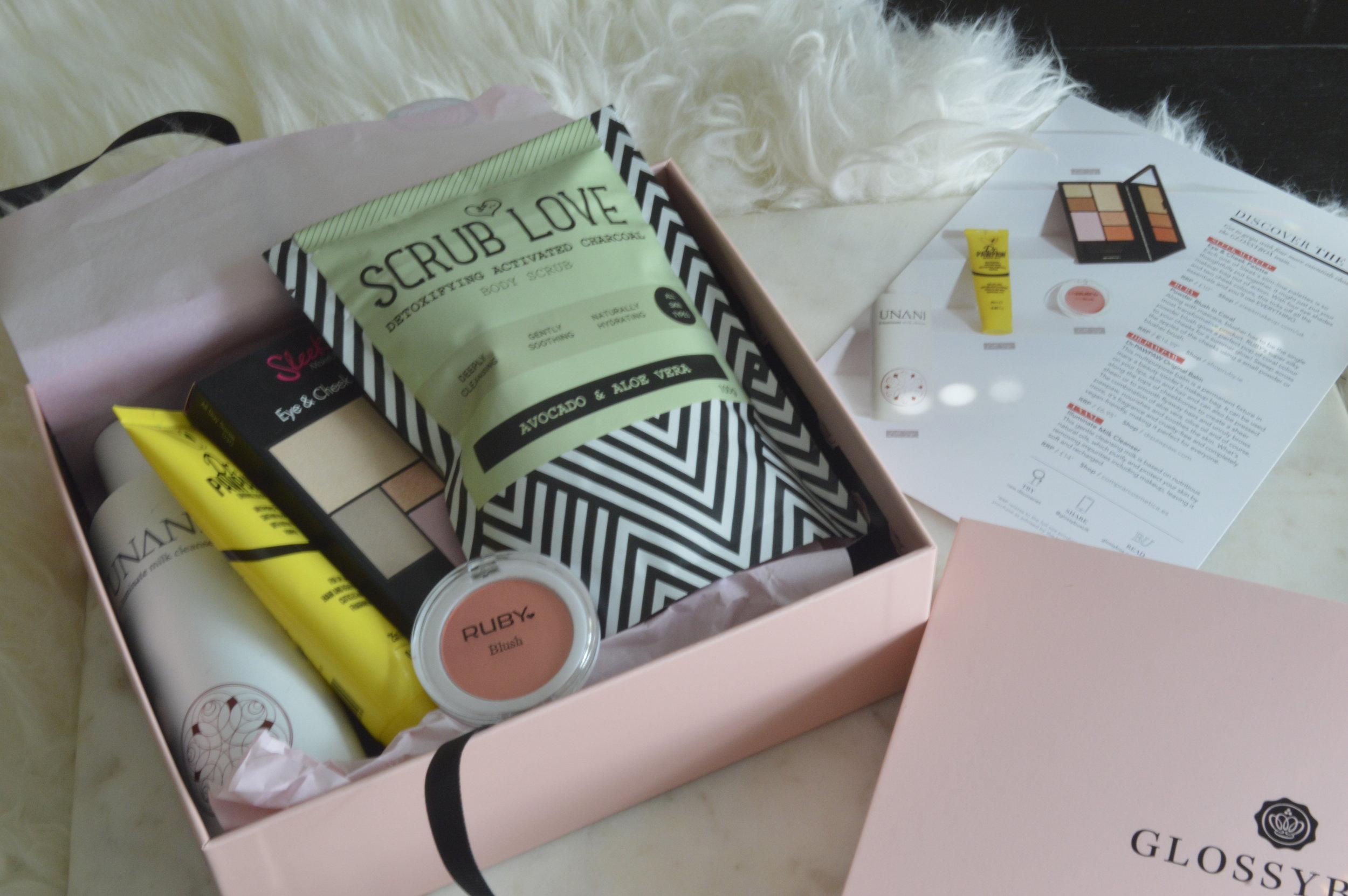 Glossy Box UK May, Beauty Review