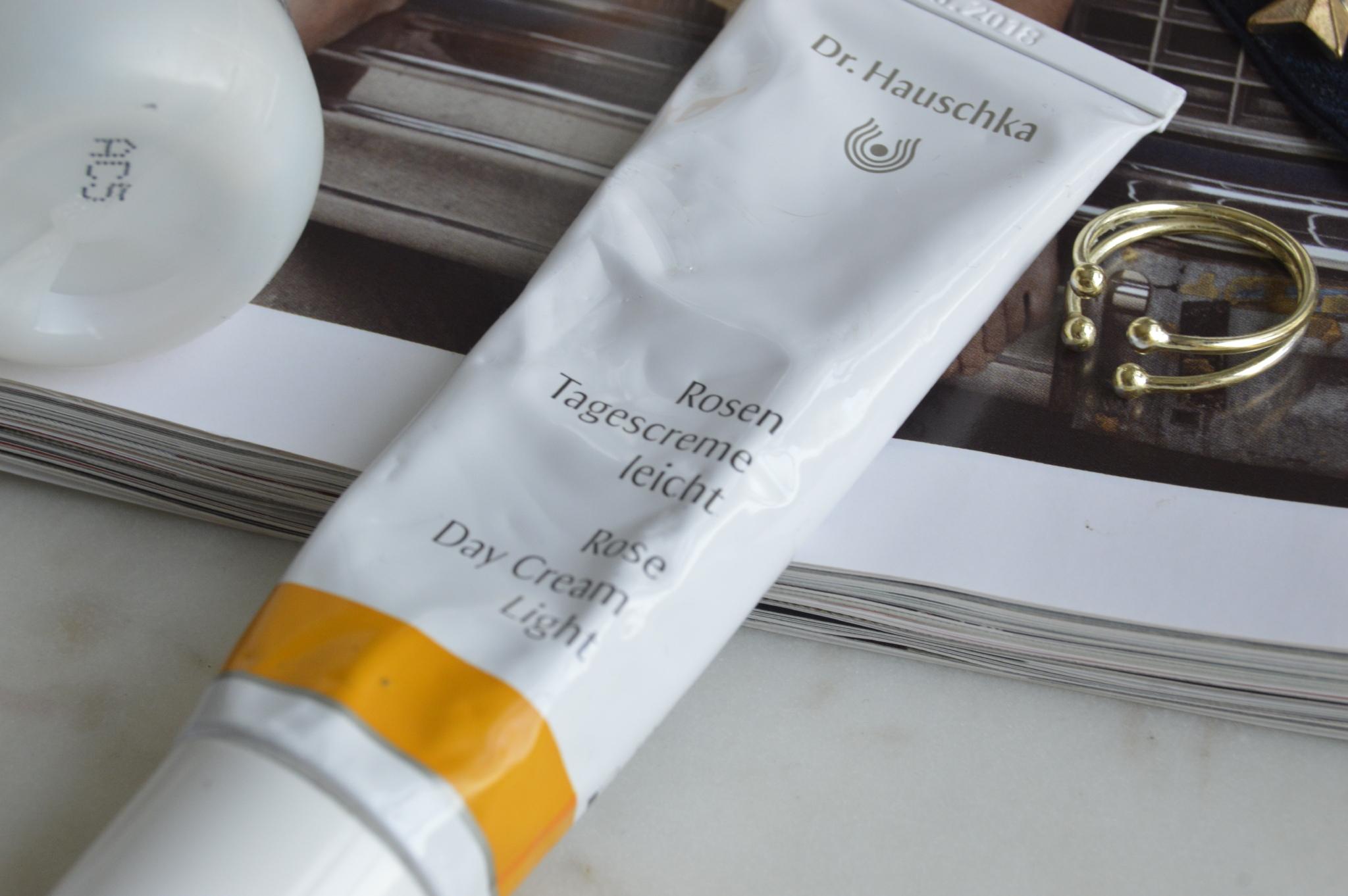 Dr Hauschka Skin Care, the Creative Larder Review, Rose Day Cream Light