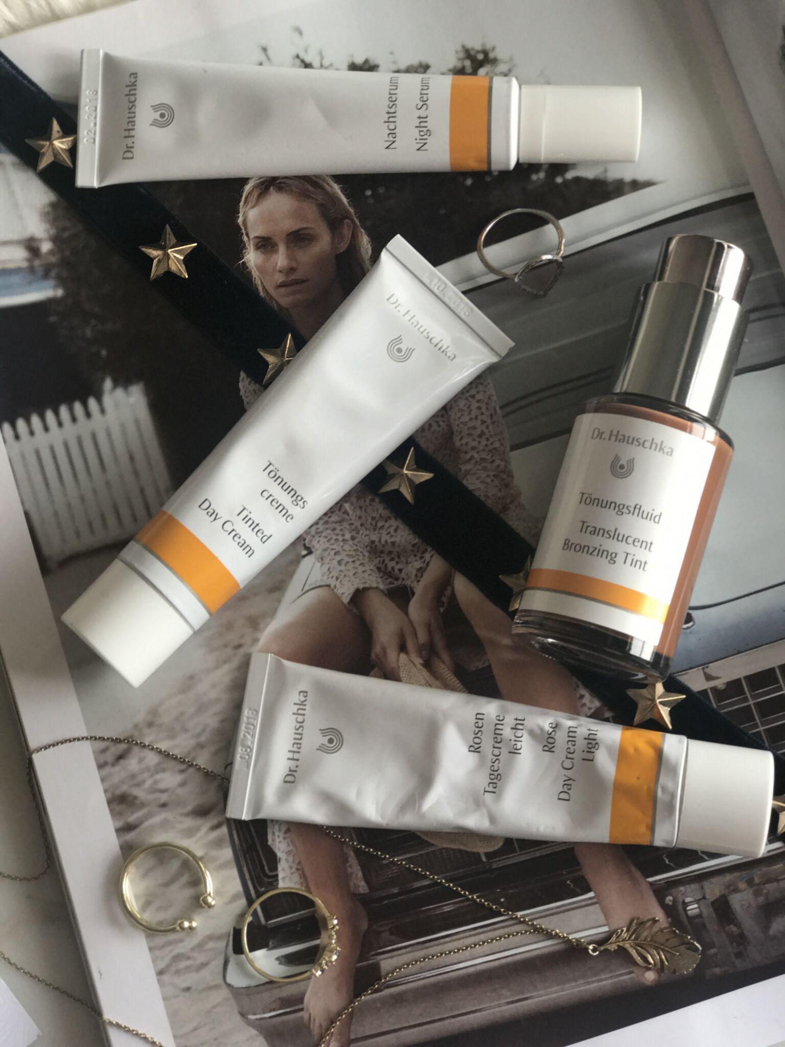 Dr Hauschka Skincare Range, The Creative Larder, Beauty blogger review.
