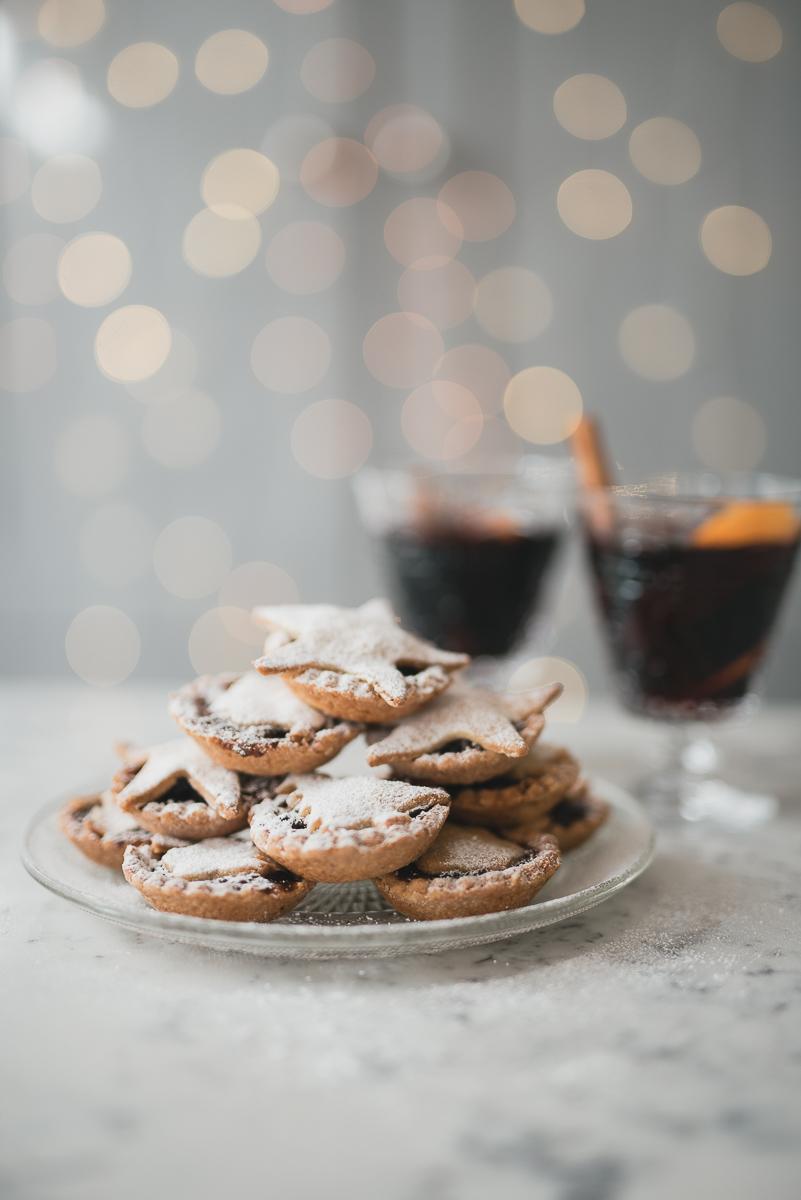 Christmas Food Styling Christmas Mince Pies