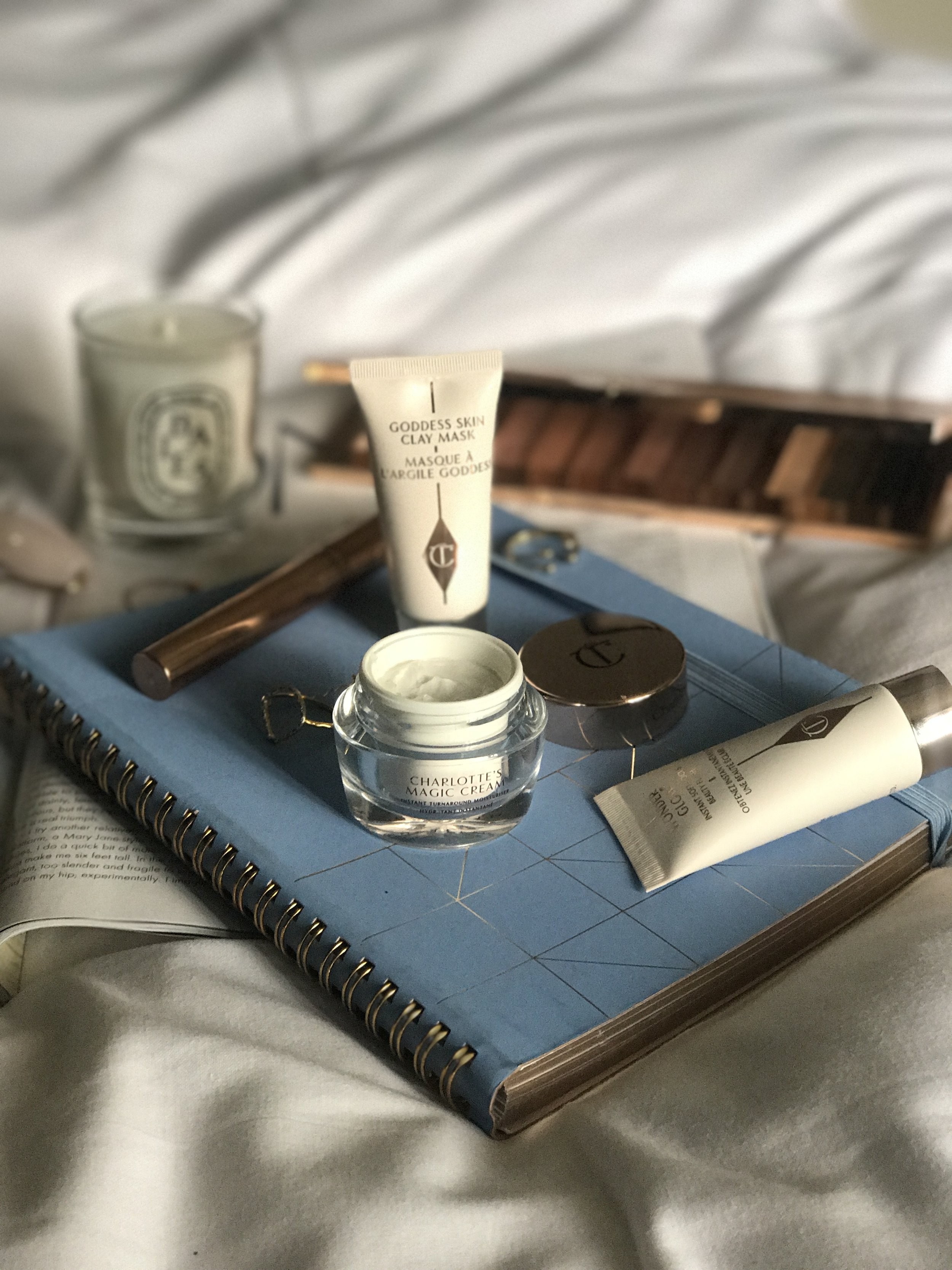 Charlotte Tilbury Beauty Review and Flat lay by The Creative Larder