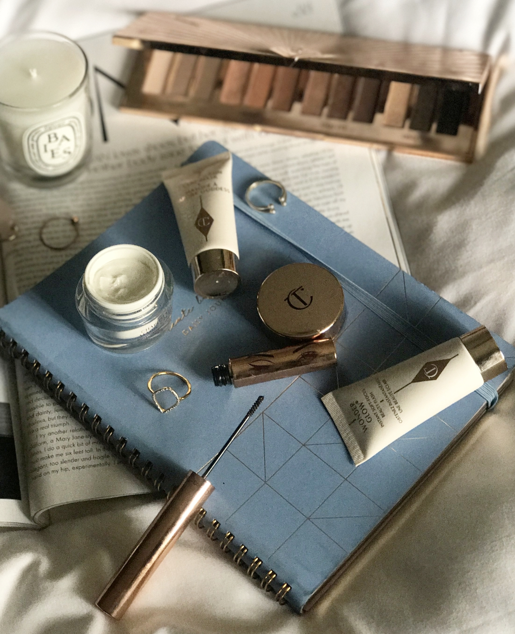 Charlotte Tilbury, The Creative Larder Flatlay and Beauty Review