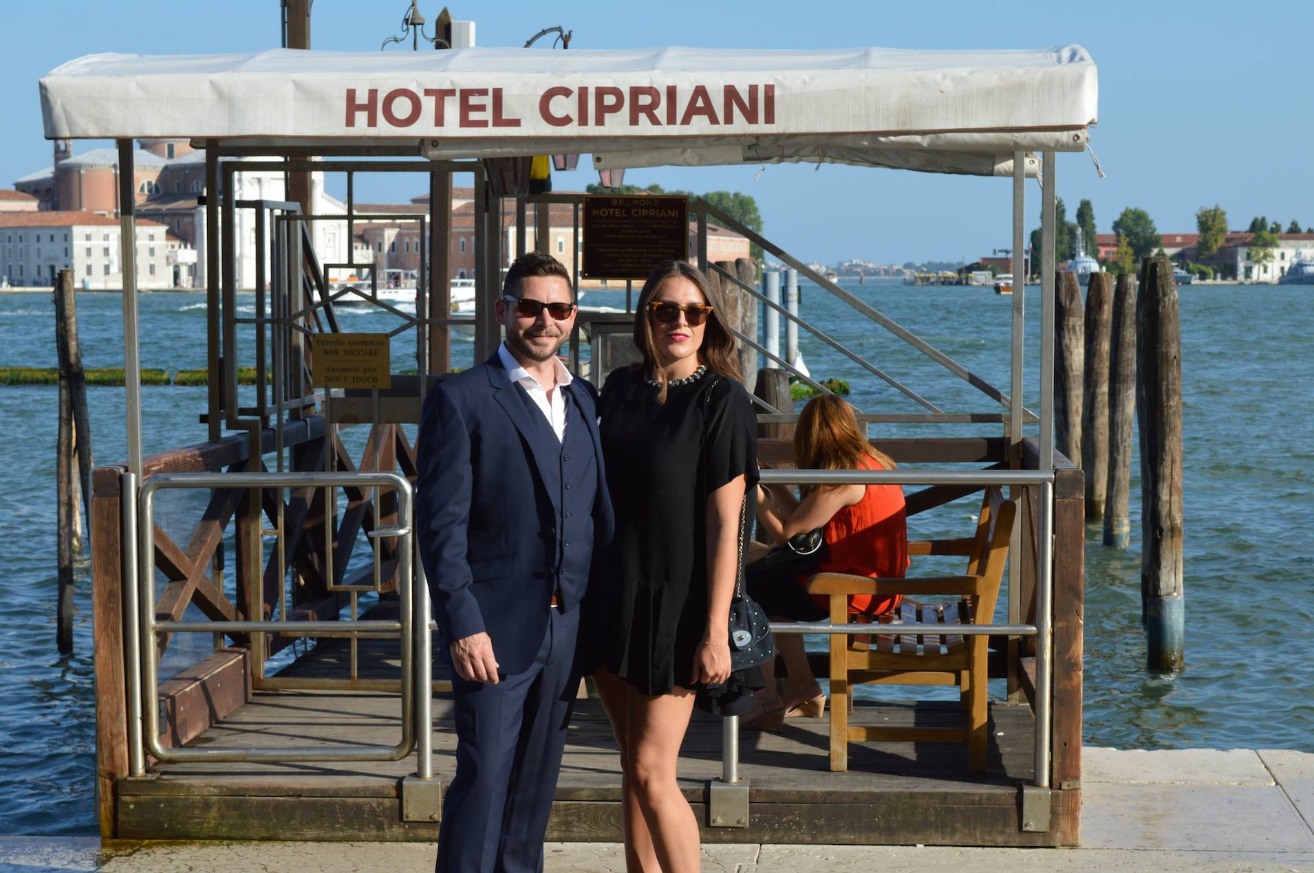 Catching the boat over to Belmond Cipriani Venice