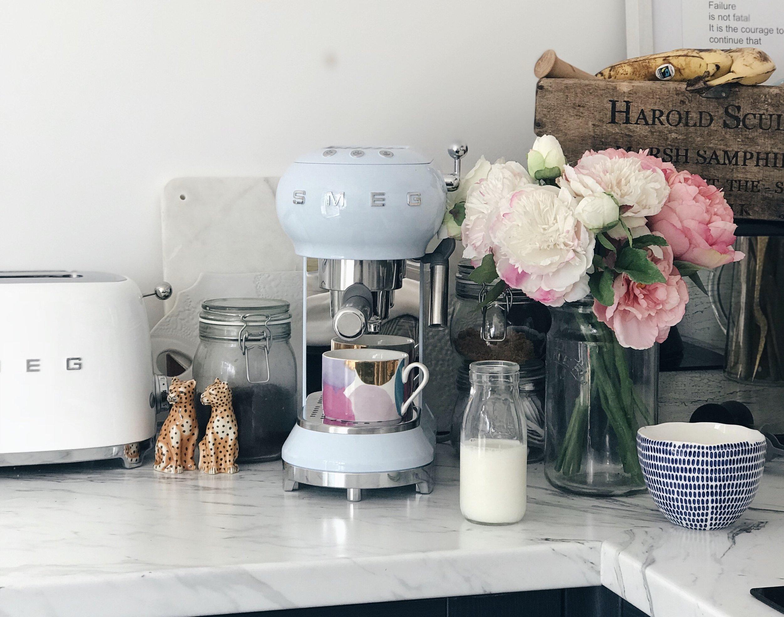 Light Blue Smeg Espresso Machine Review