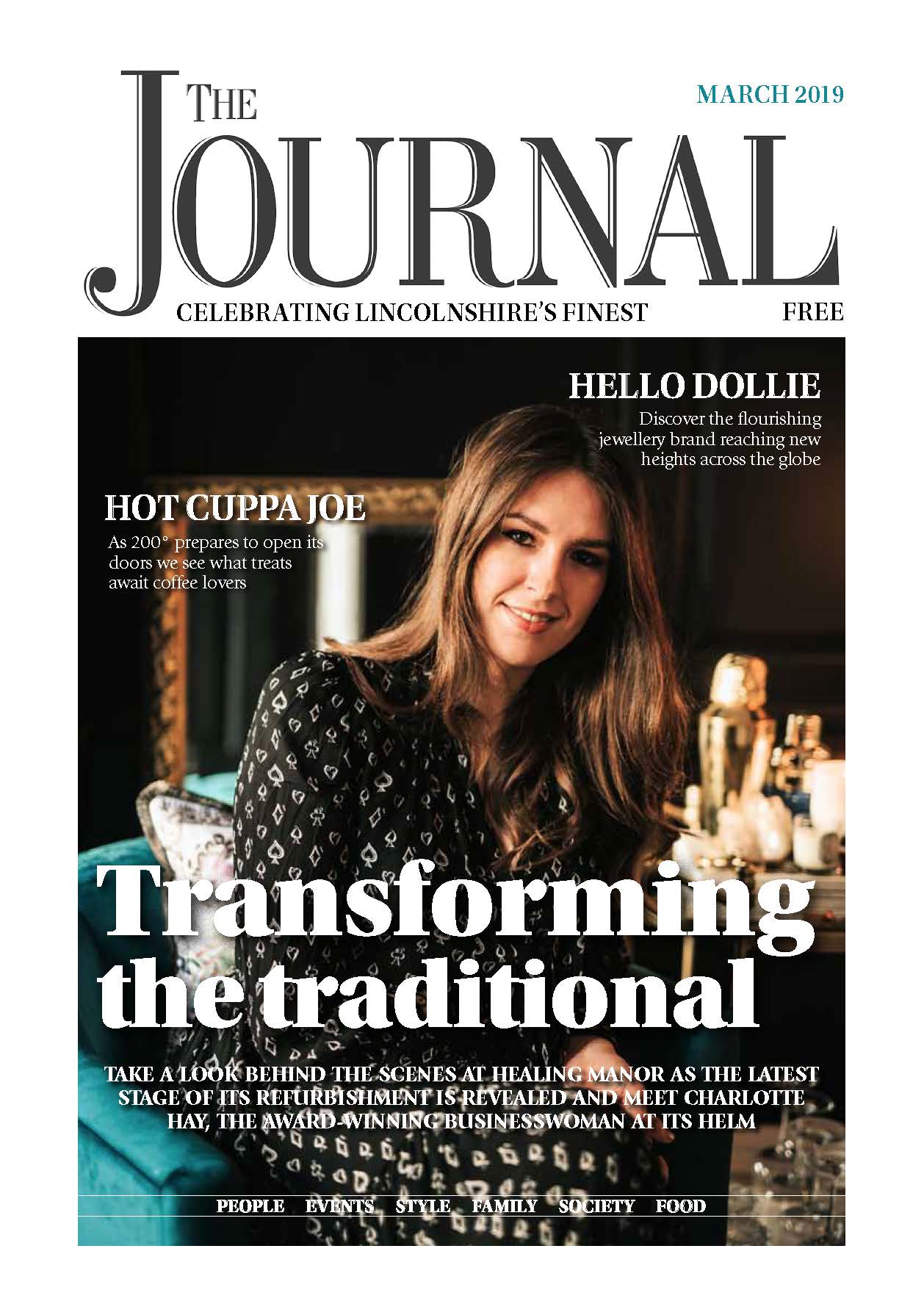 The Journal Cover Feature