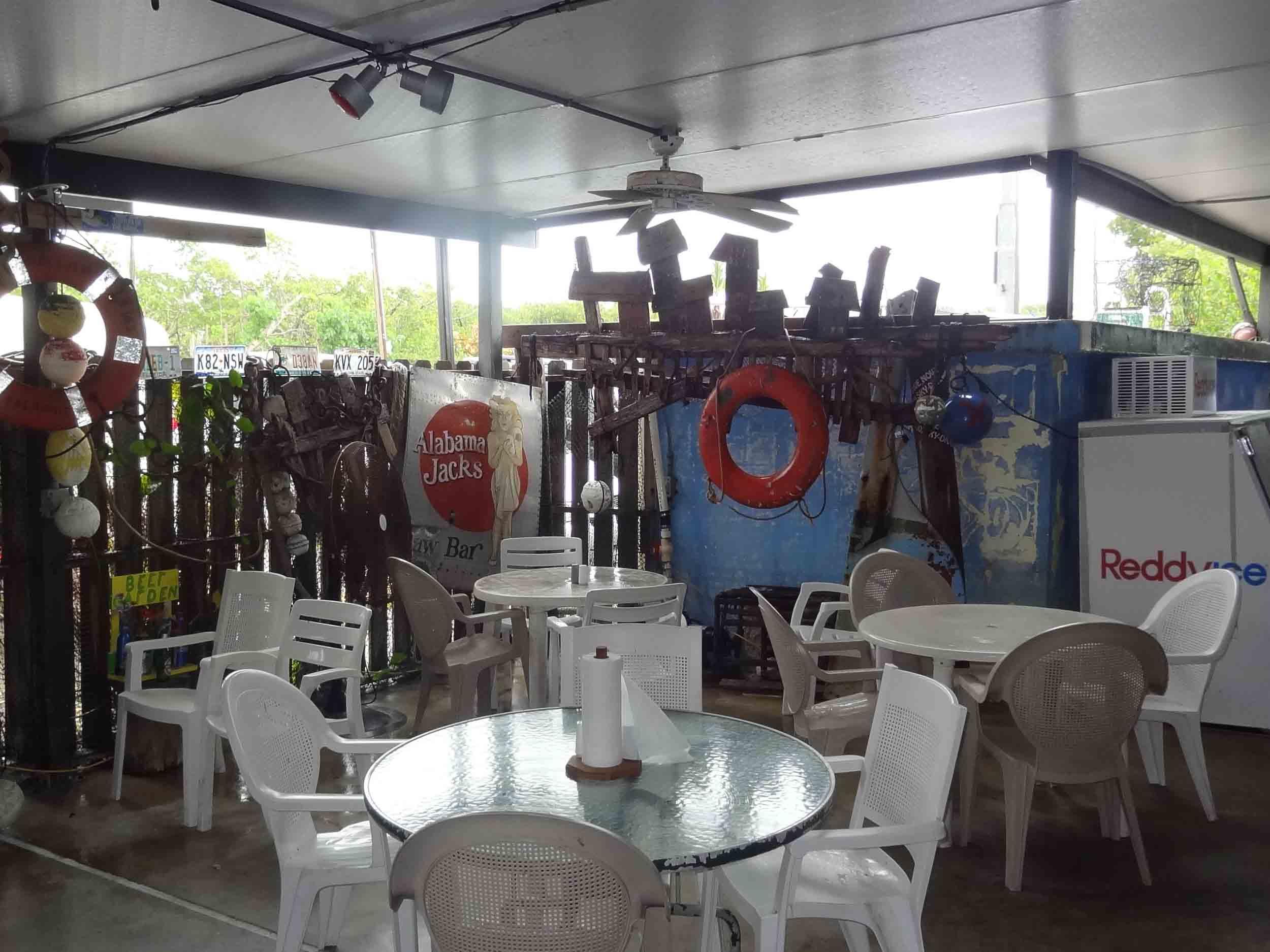 Alabama Jack's Dining Area