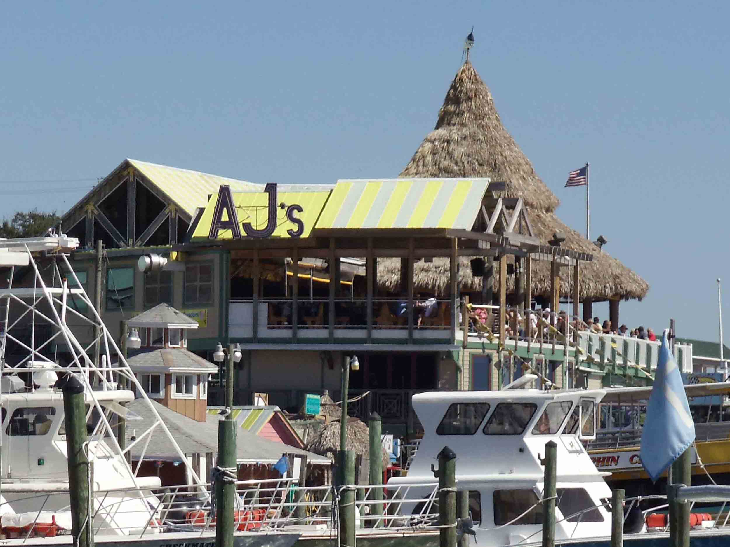 AJ's Seafood and Oyster Bar Exterior