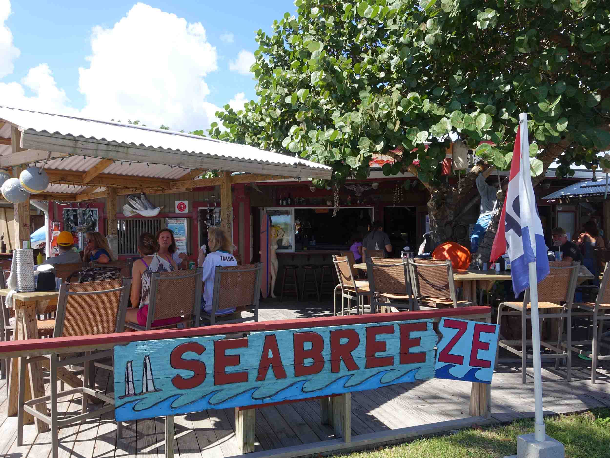 Archie's Seabreeze Patio Area
