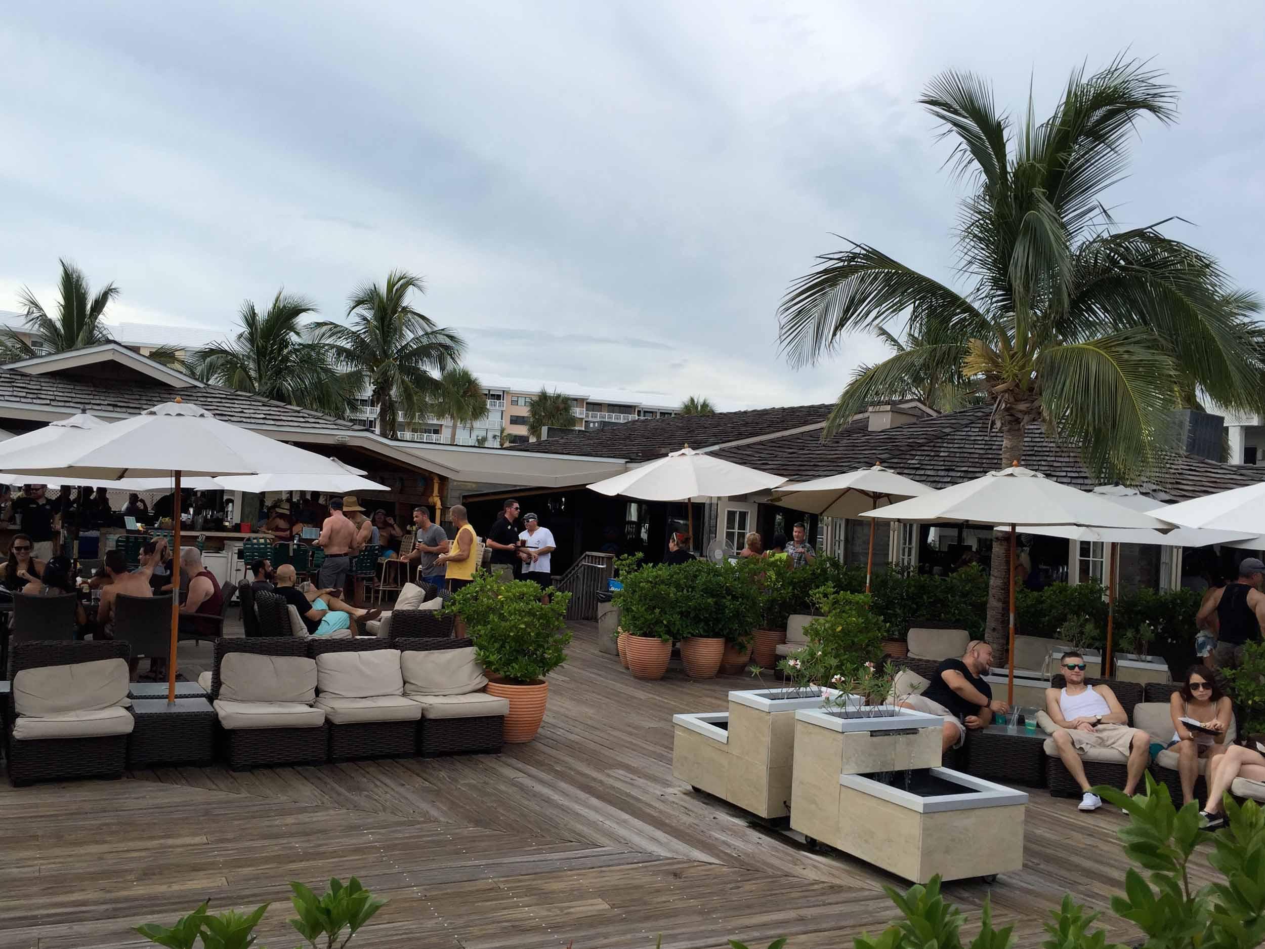 Jimmy B's Beach Bar patio