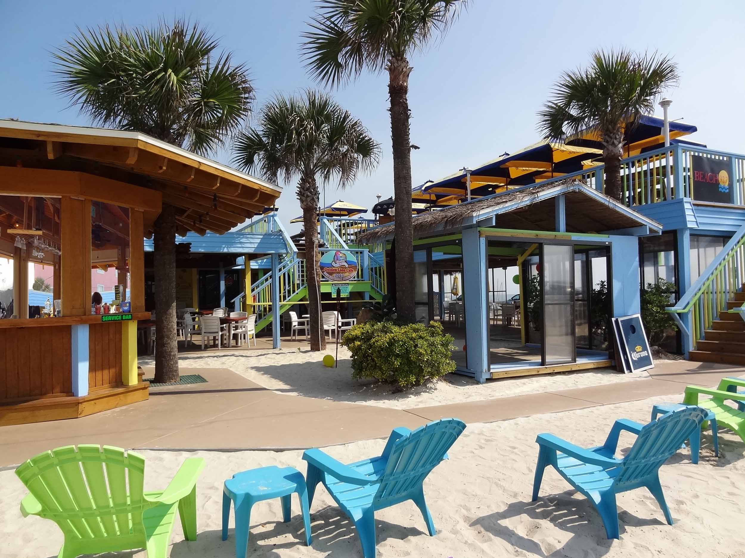 golden lion cafe beach bar