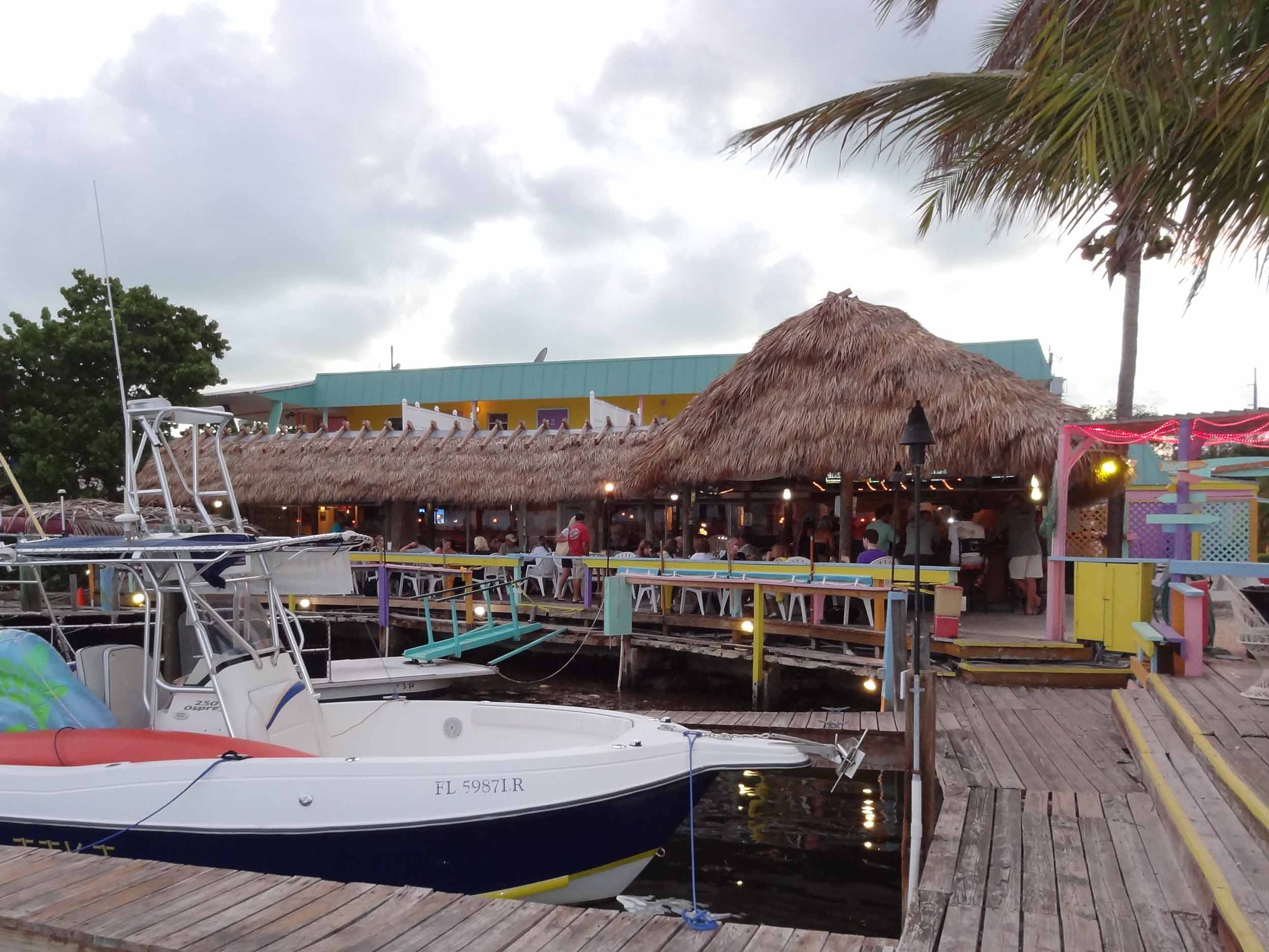 The Turtle club at snappers waterfront restaurant