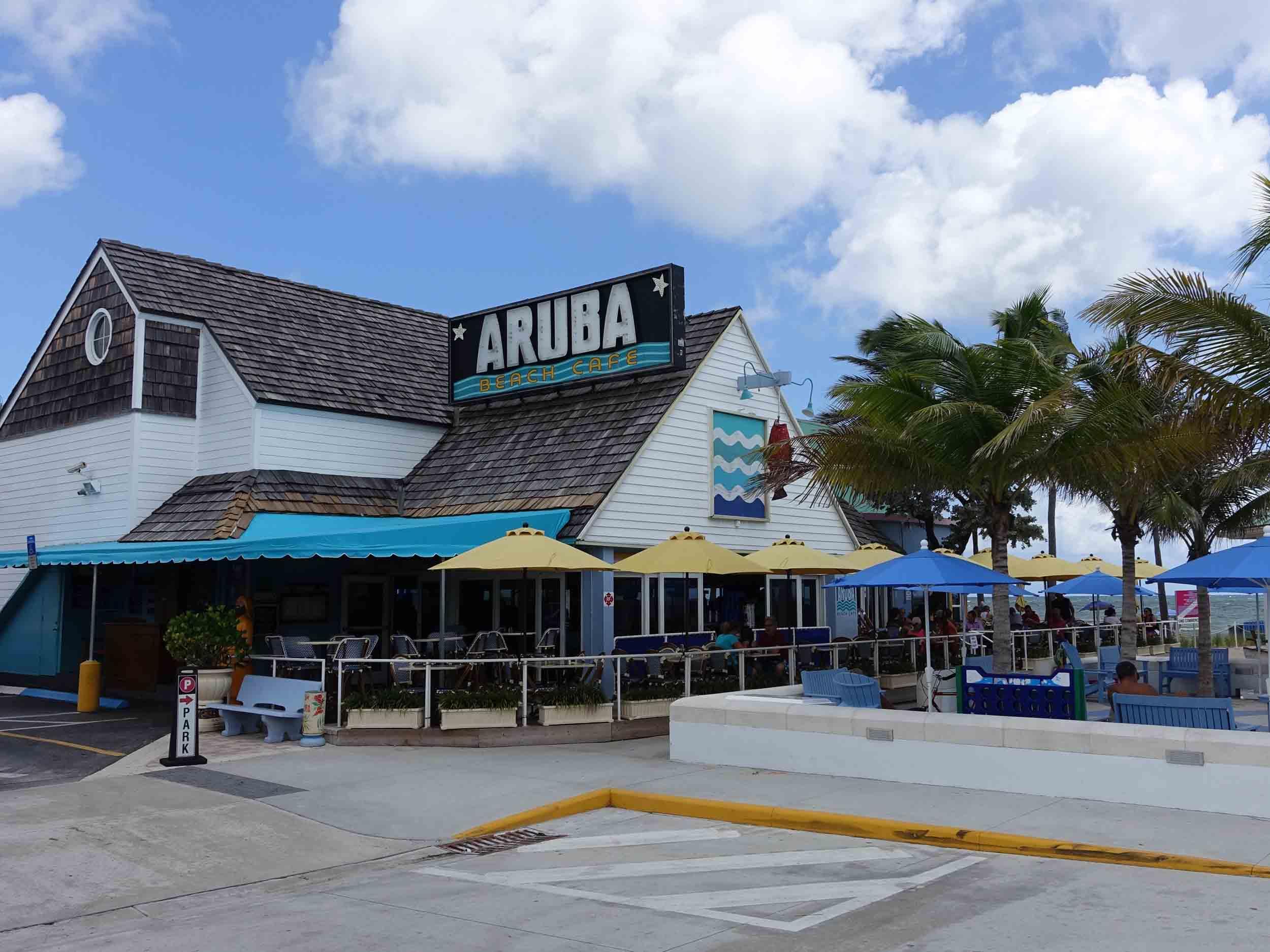 Aruba Beach Cafe Exterior
