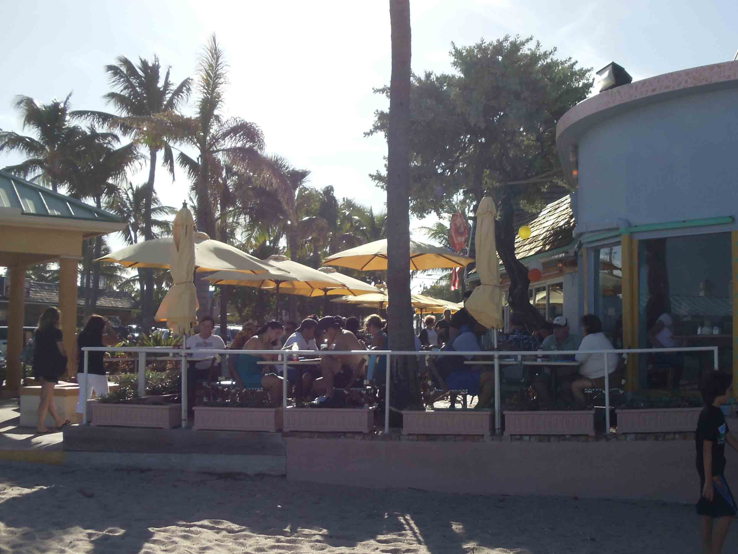 Aruba Beach Cafe Patio