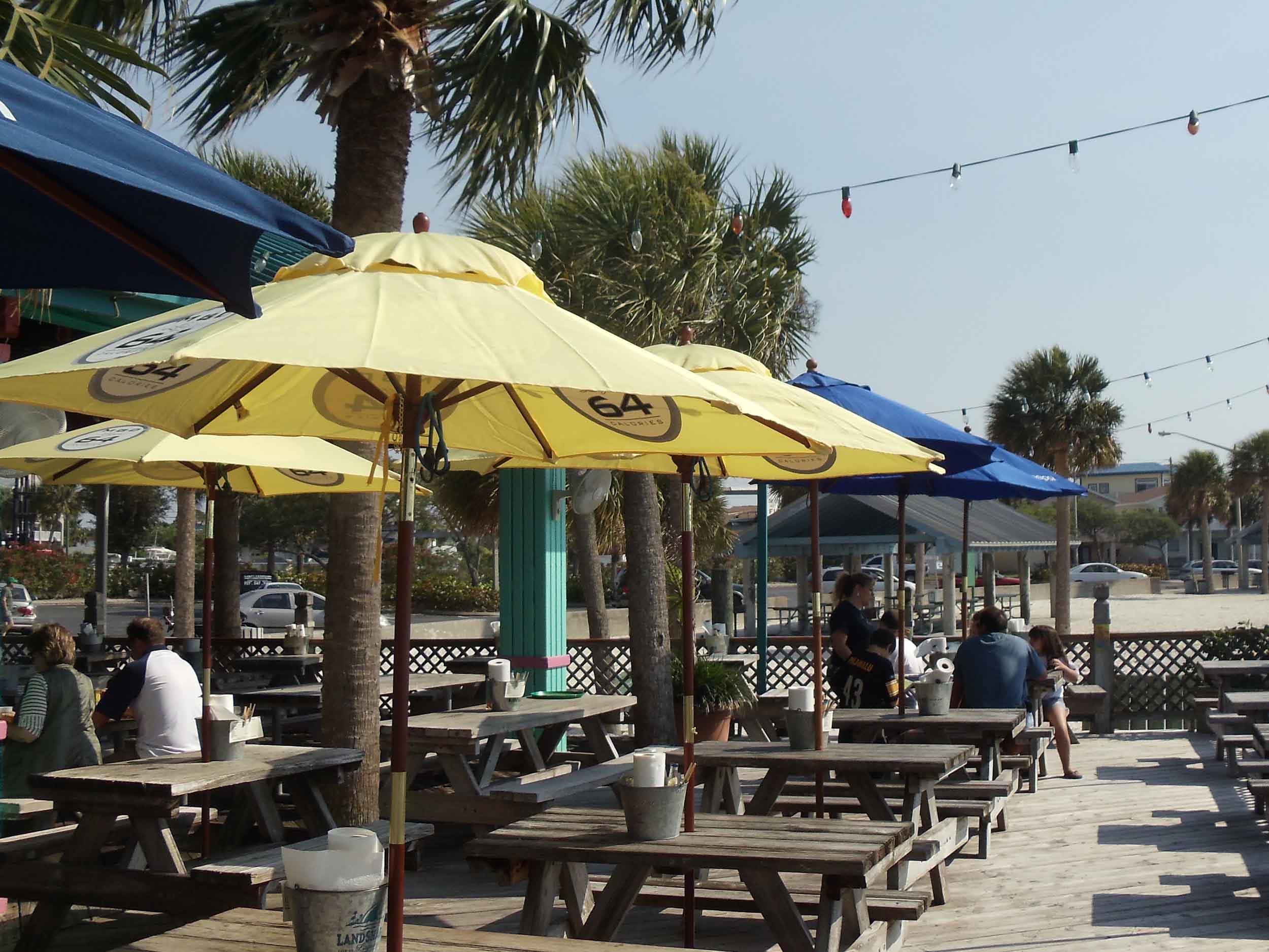 Sam's Beach Bar Seating Area
