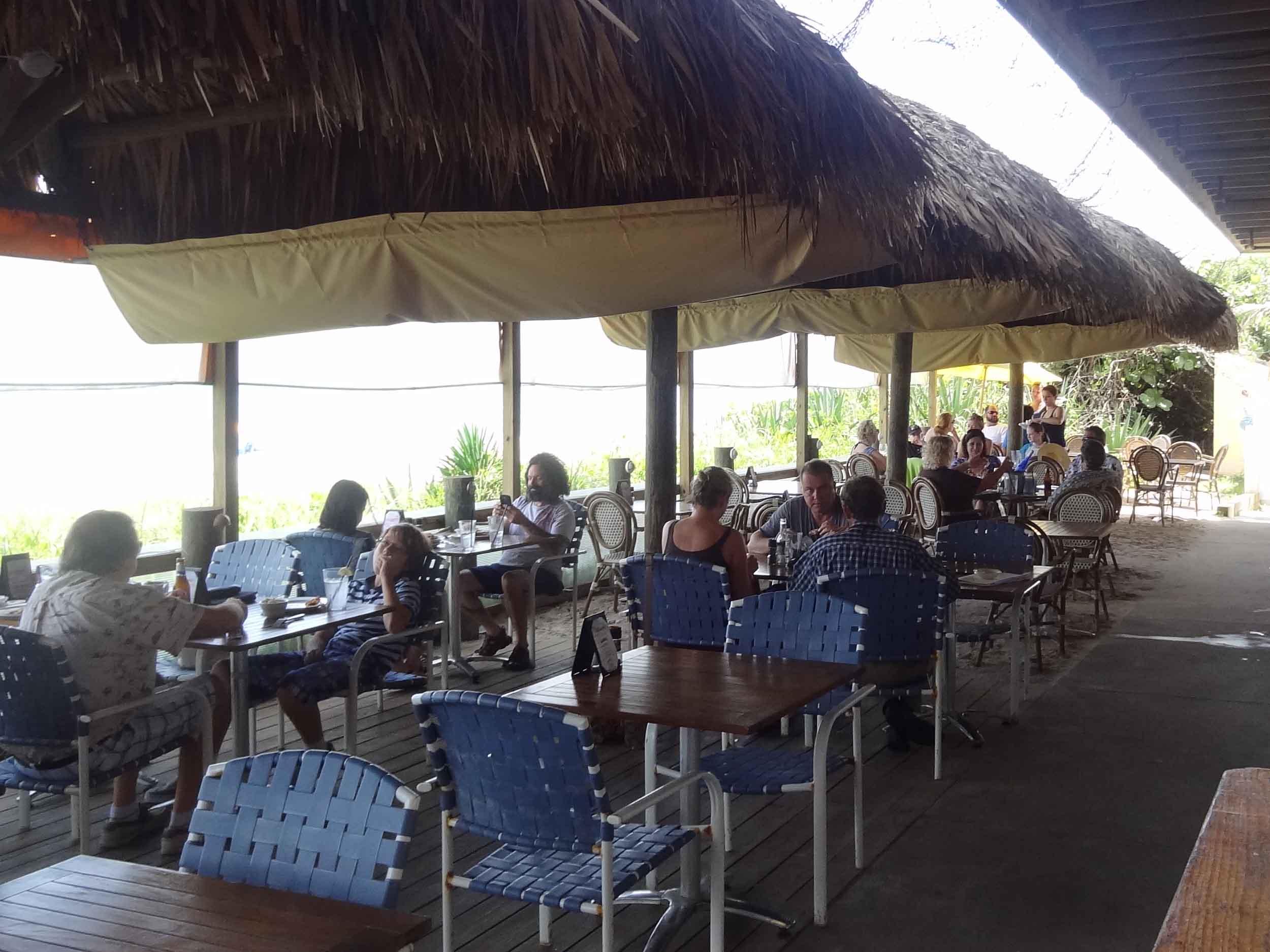 Sand on the Beach Dining Area