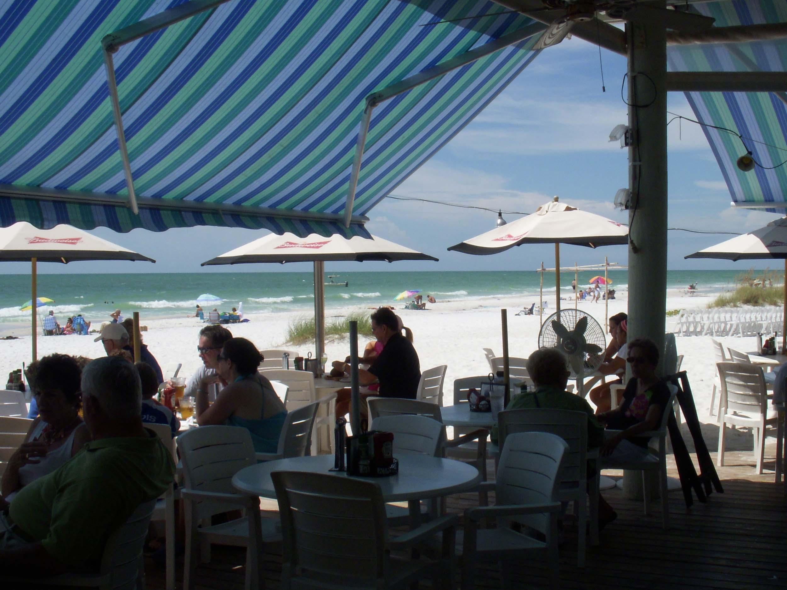 Sandbar Restaurant Dining Area