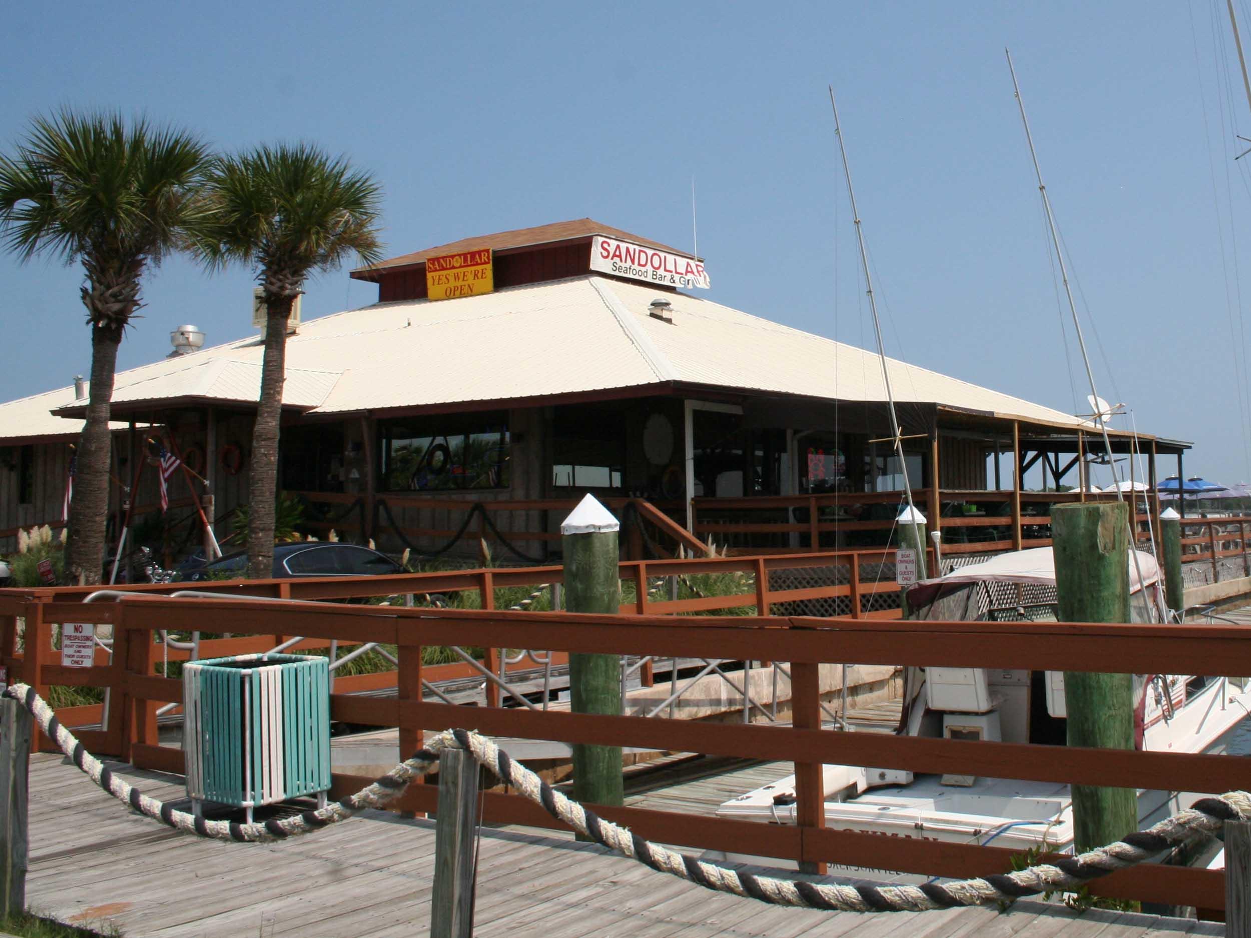 Sandollar Restaurant and Marina Exterior