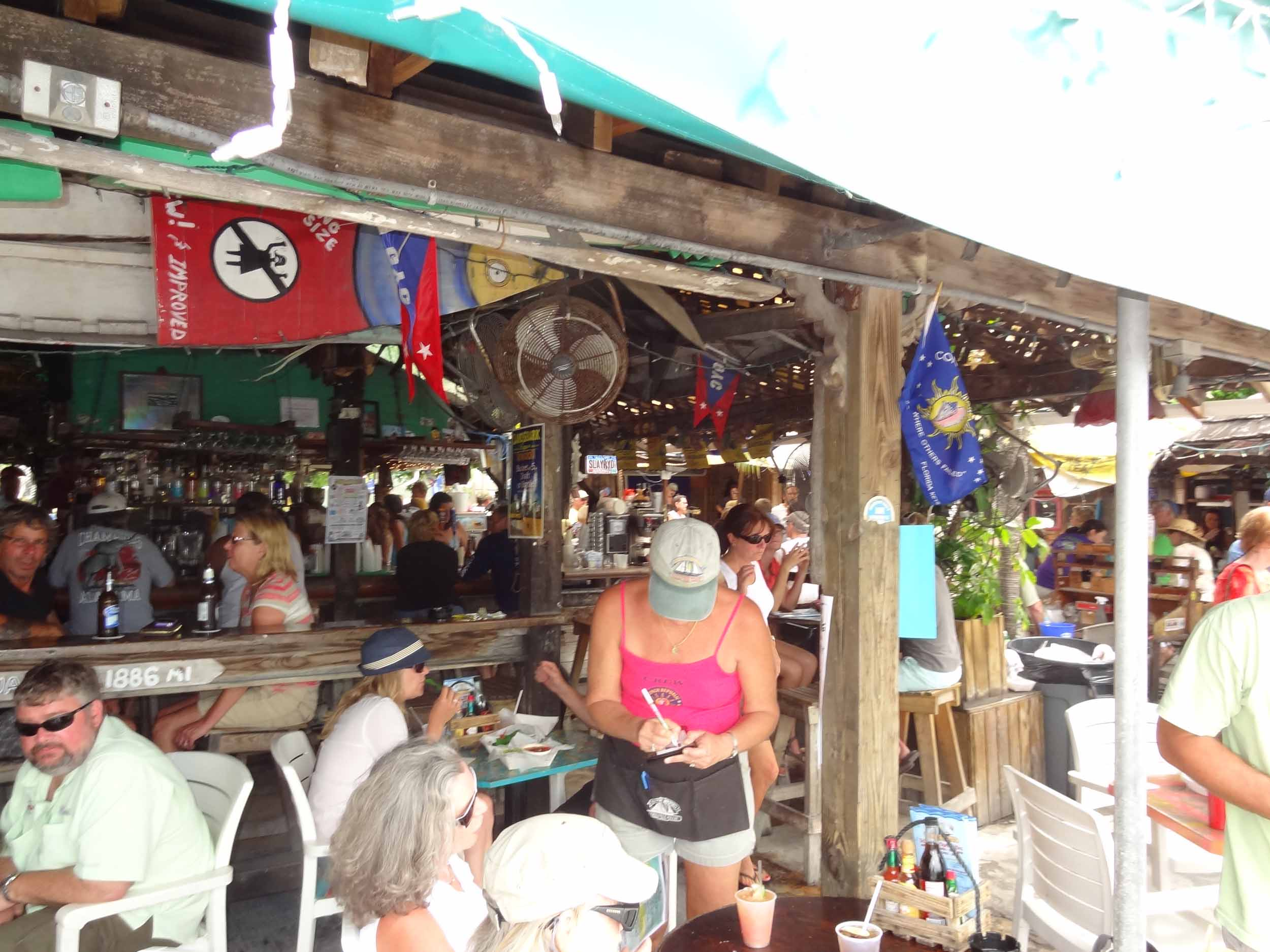 Schooner Wharf Bar Seating Area