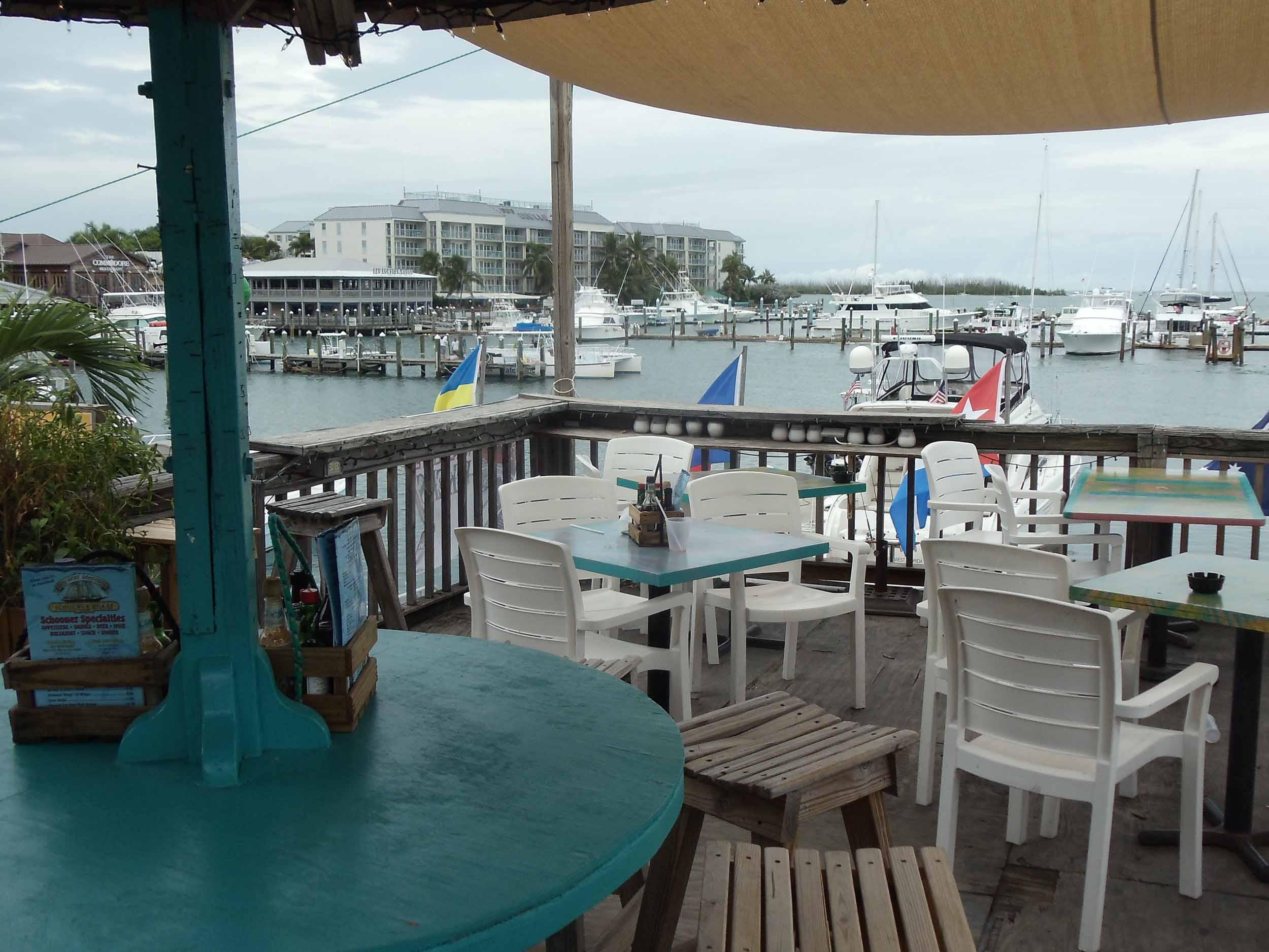 Schooner Wharf Bar Water View