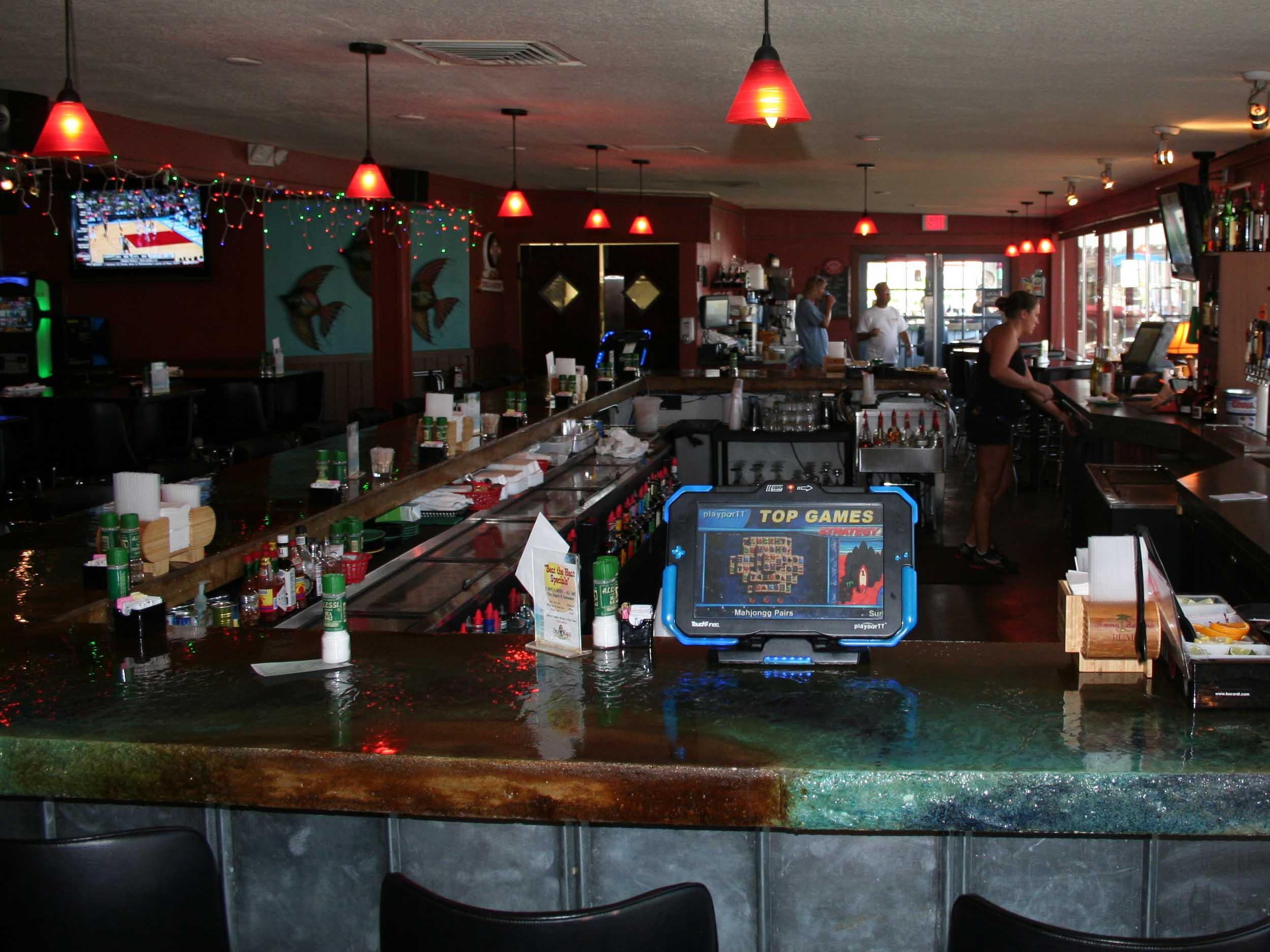 Sea Hags Bar and Grill Interior