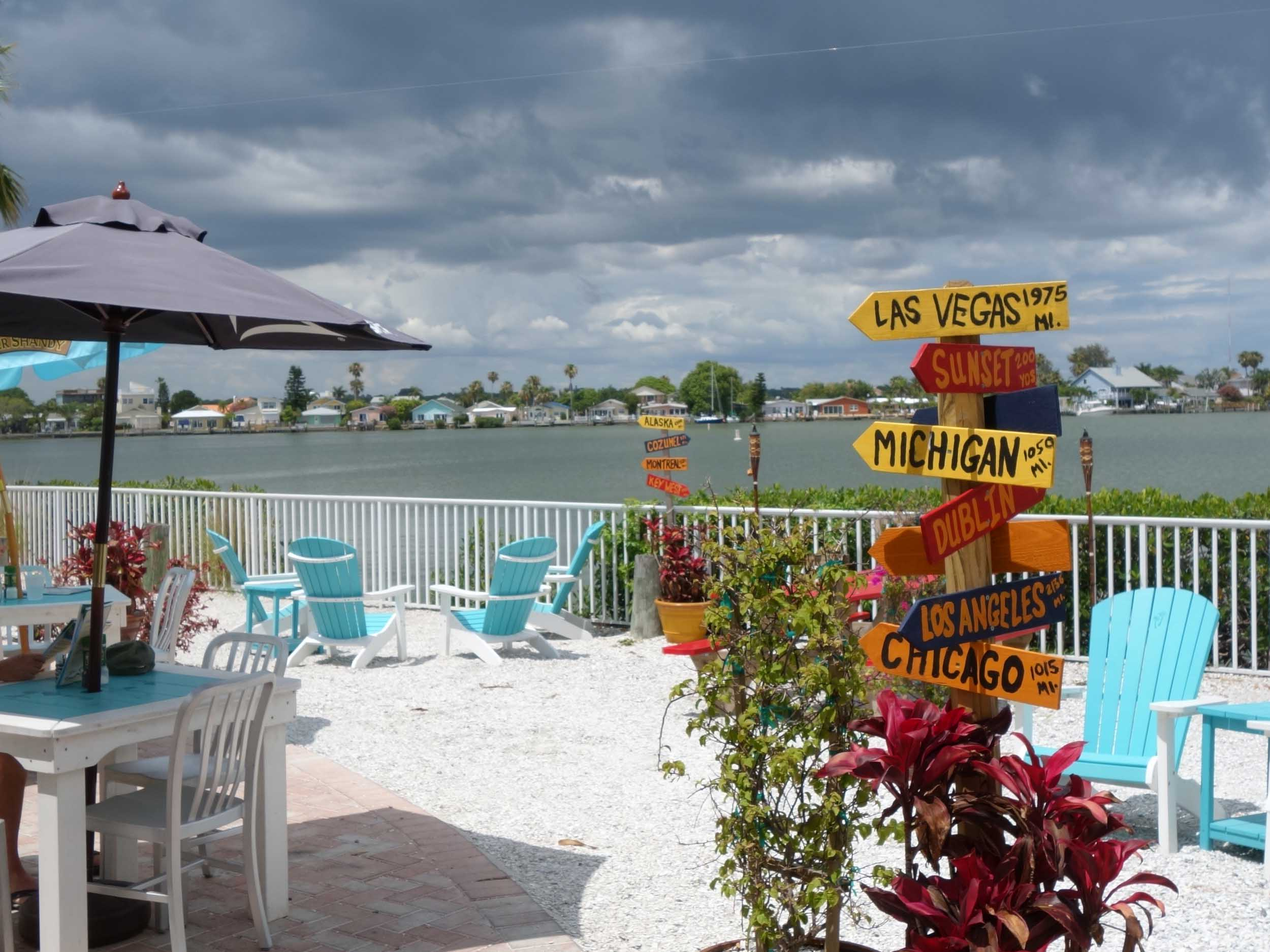 Seabreeze Island Grill Patio