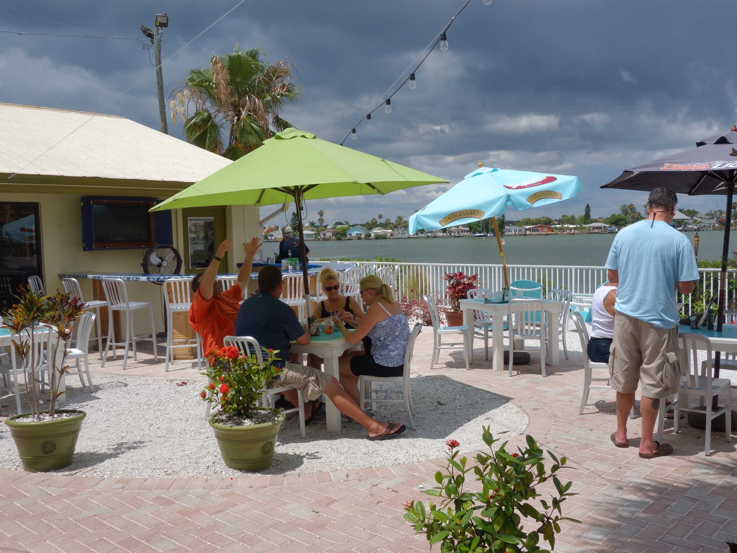 Seabreeze Island Grill Dining Area