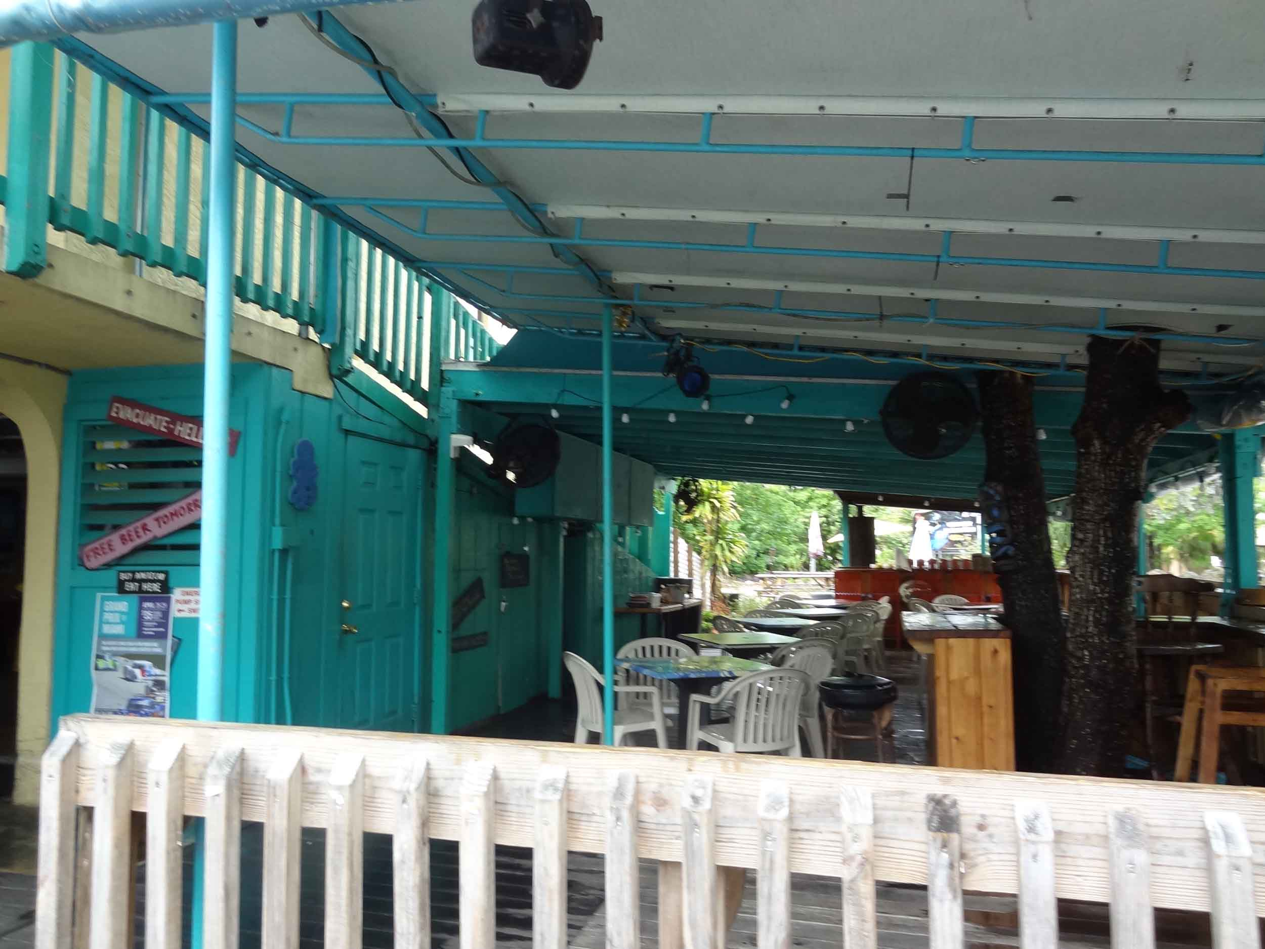 Sharkey's Pub and Galley Exterior