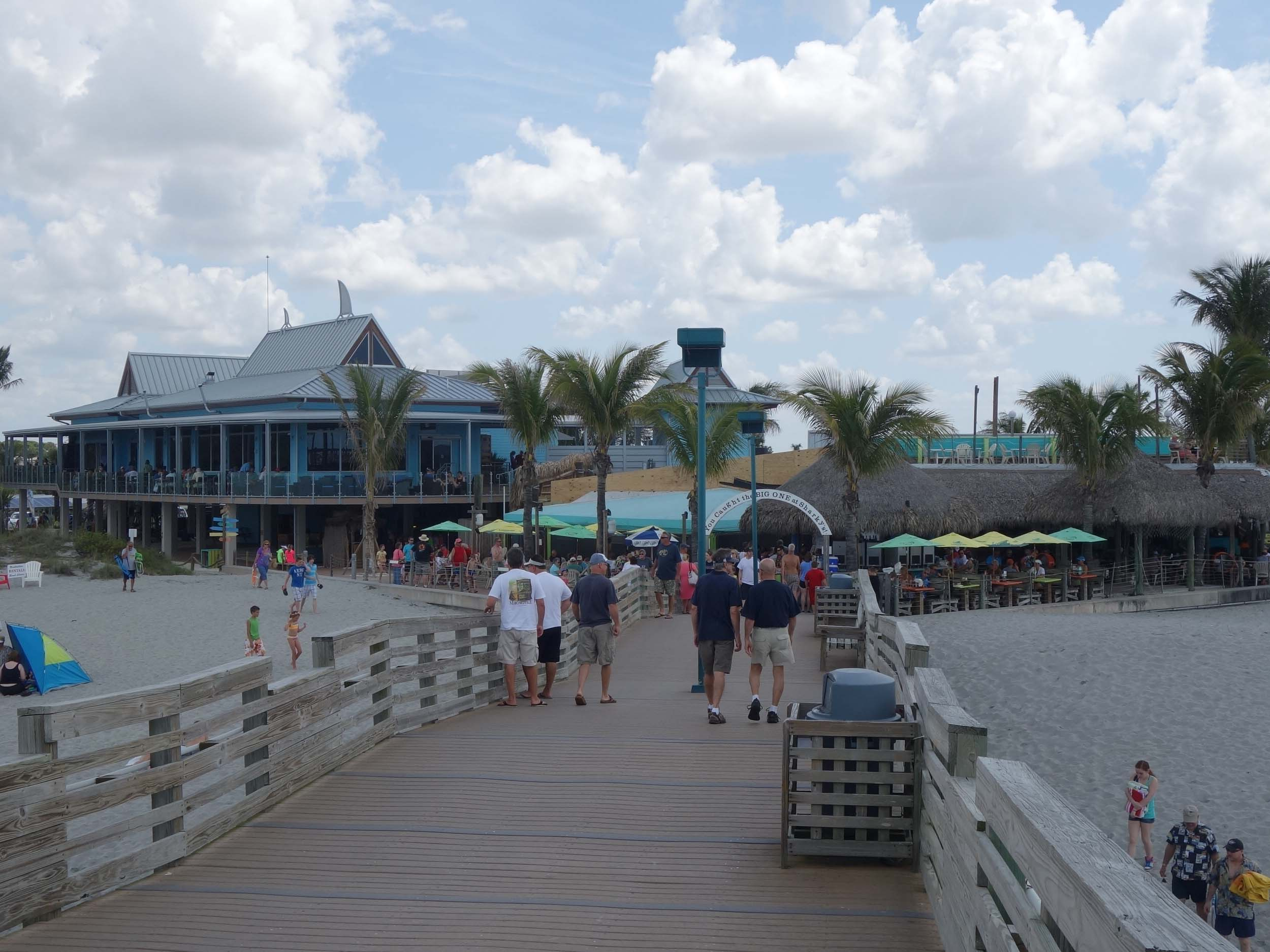 Sharky's on the Pier Exterior
