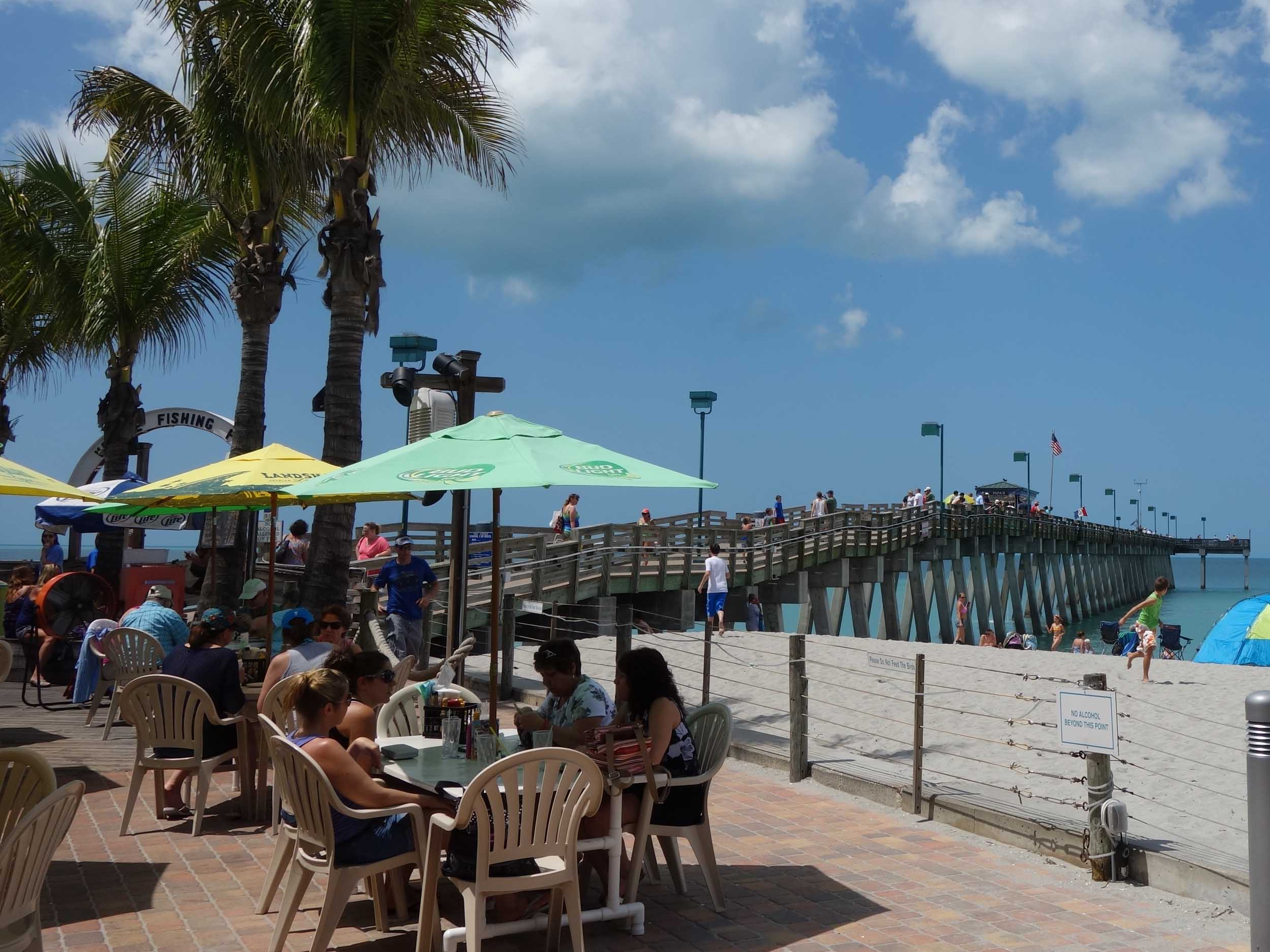 Sharky's on the Pier View