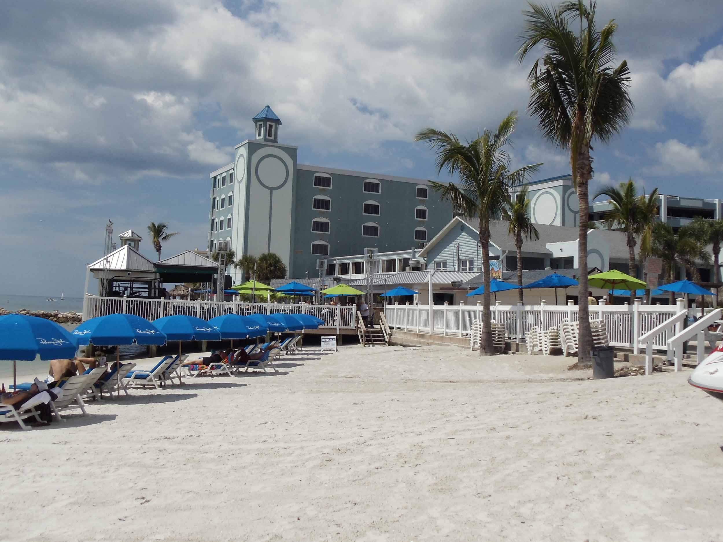 Shephard's Tiki Beach Bar View