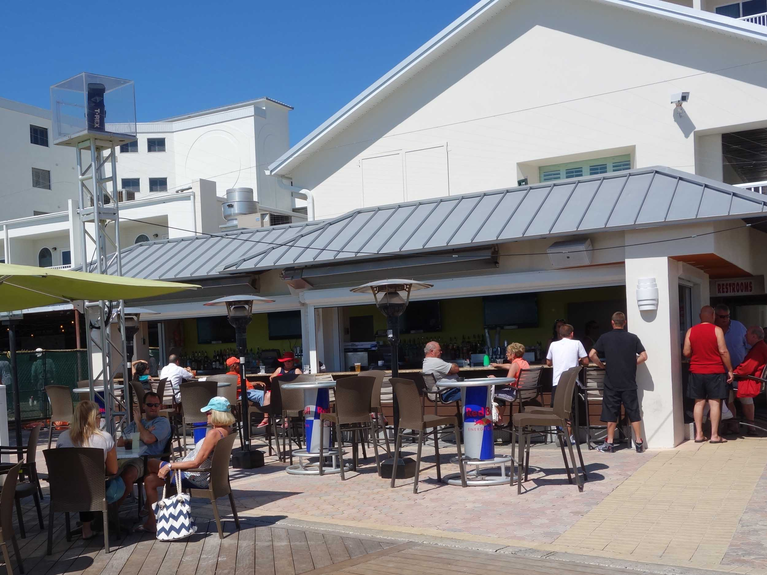 Shephard's Tiki Beach Bar Tables
