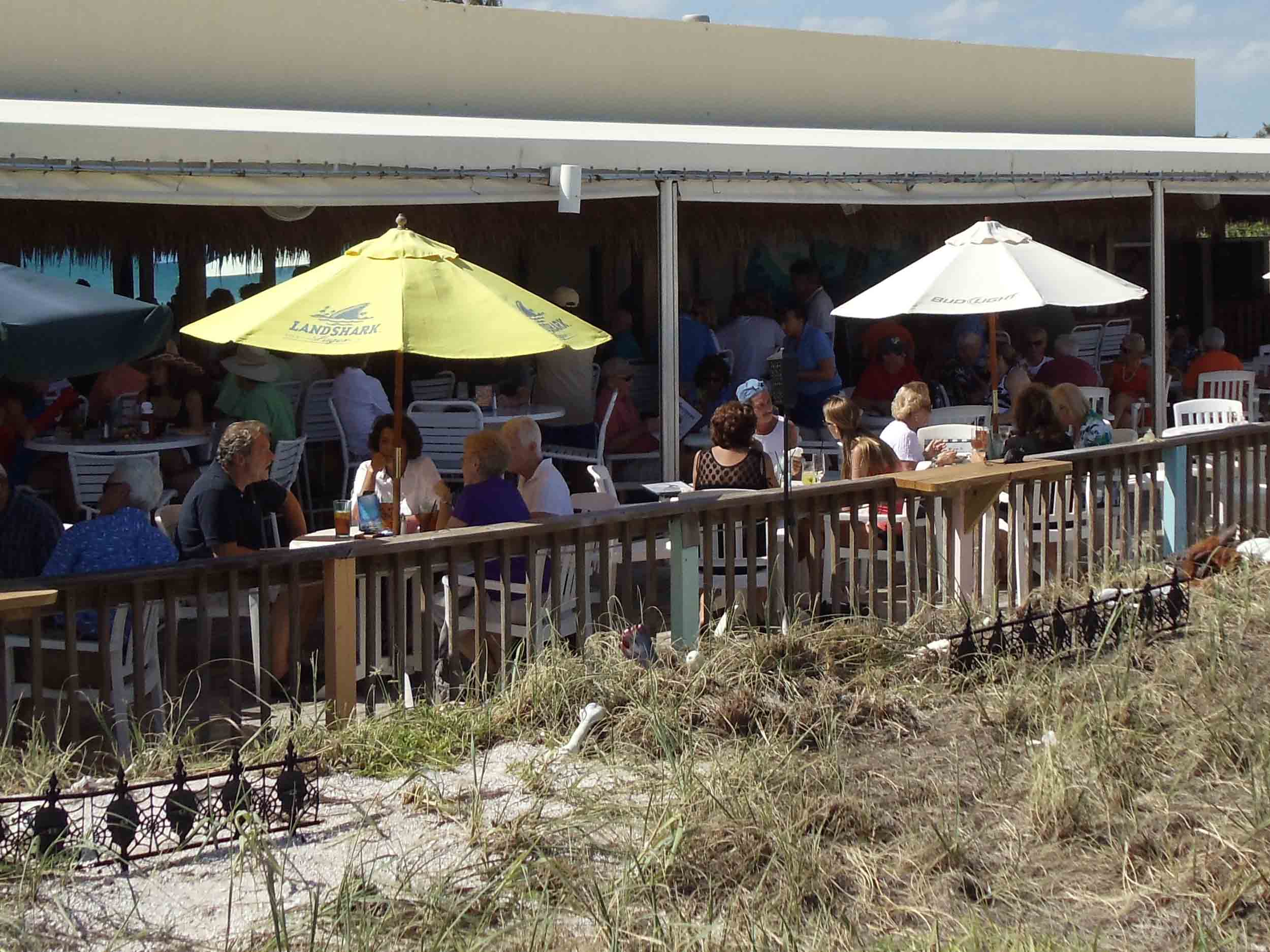 Shuckers on the Beach Exterior