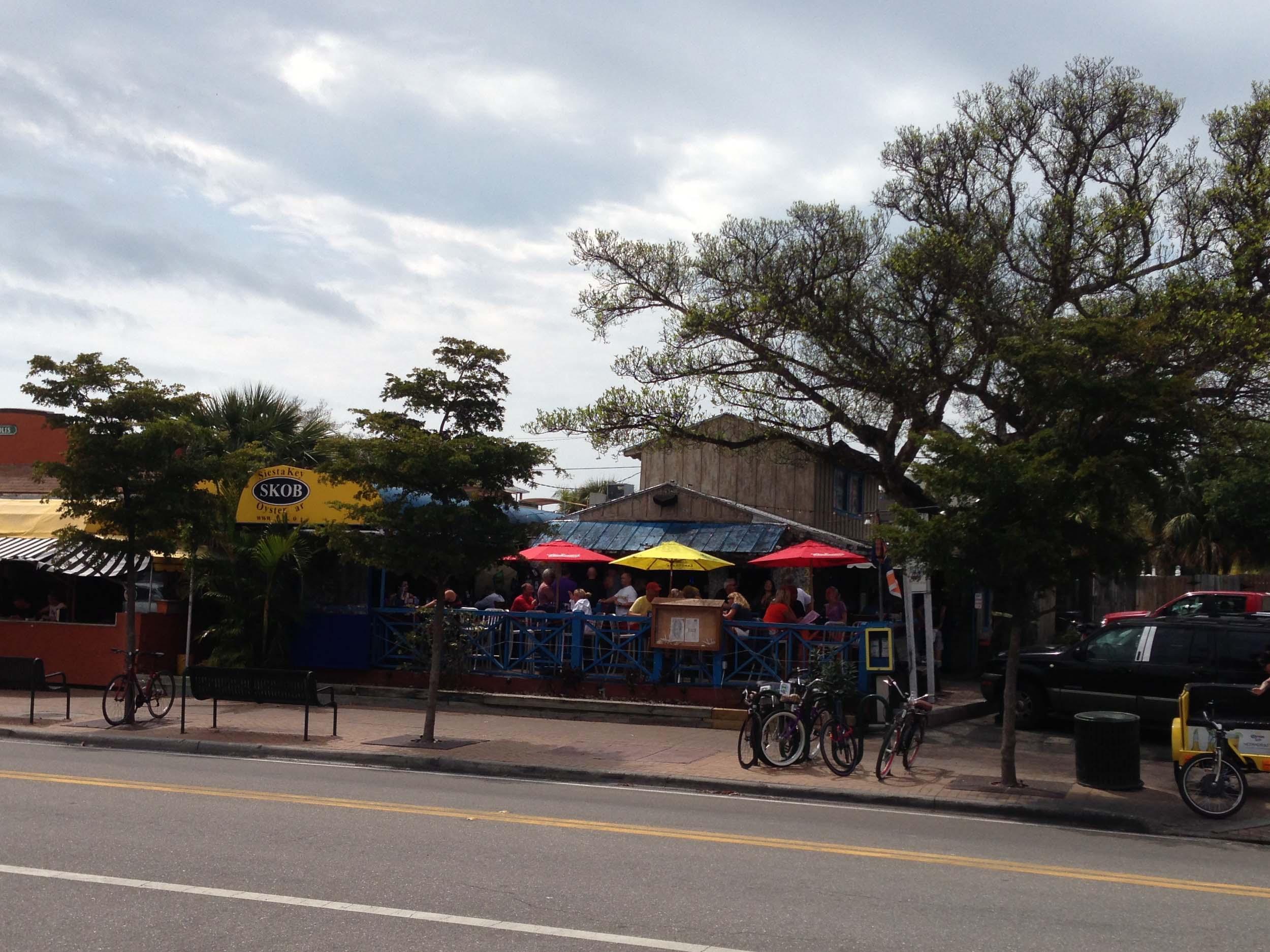 Siesta Key Oyster Bar Exterior