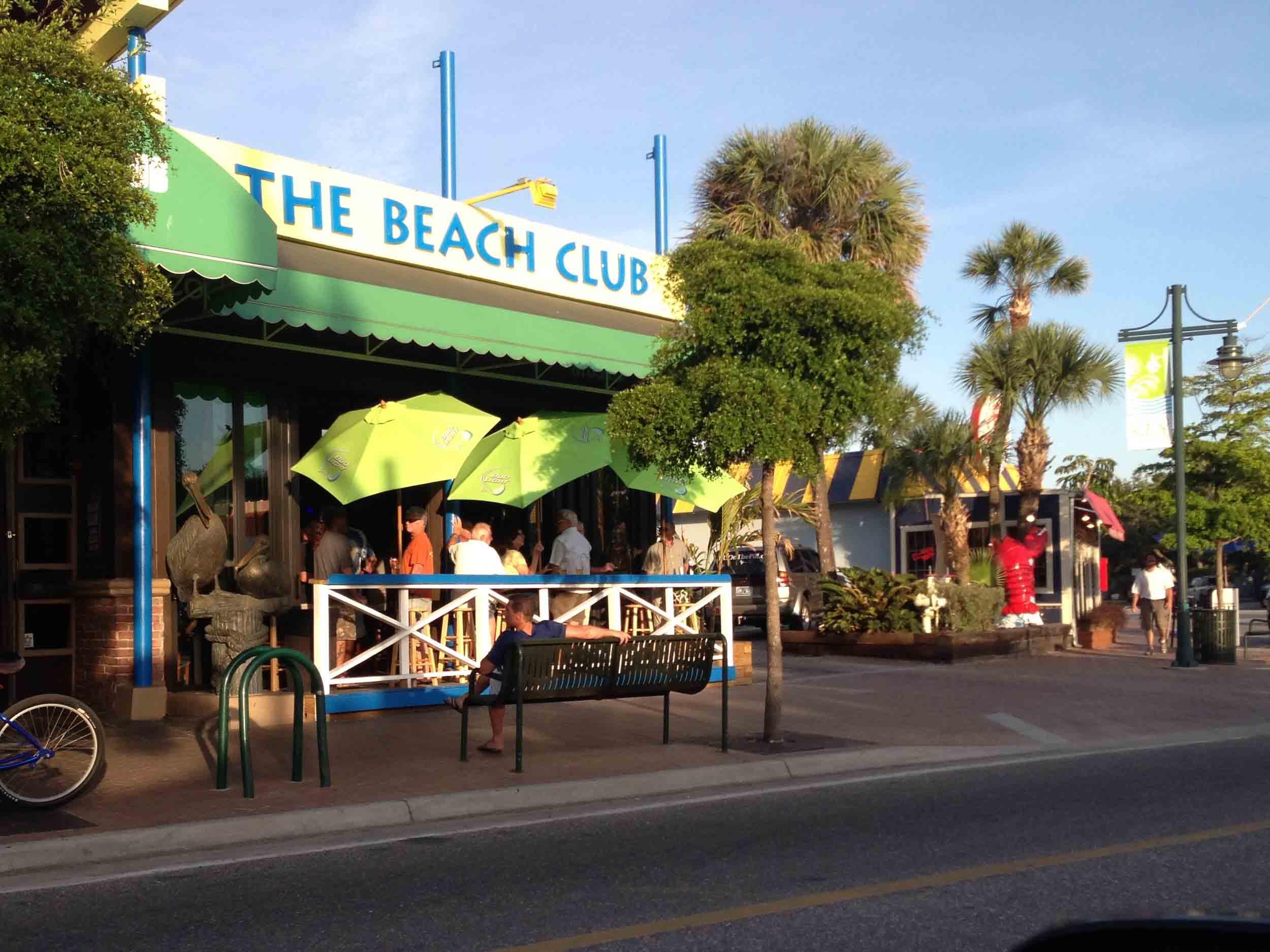 The Beach Club Entrance