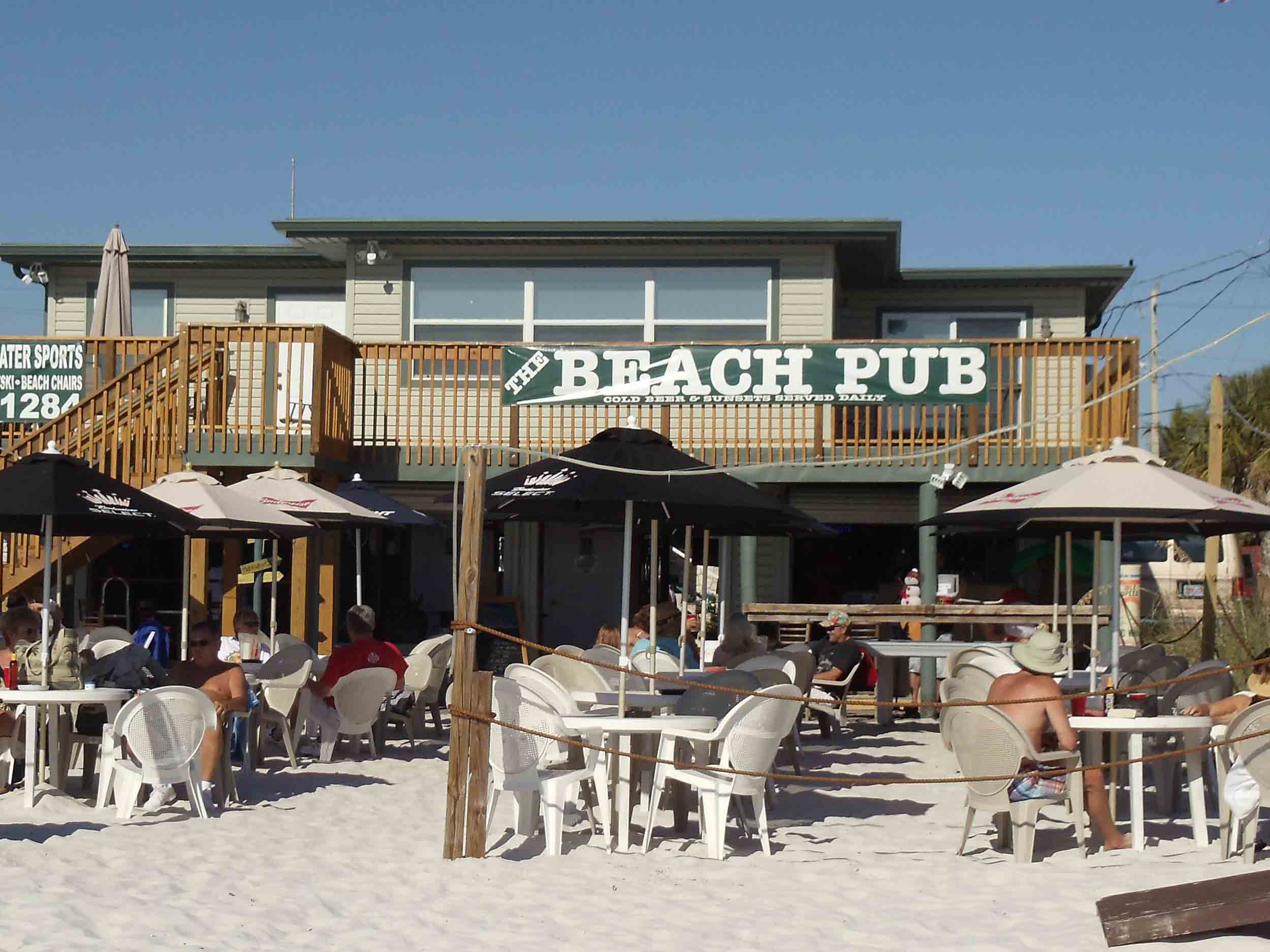 The Beach Pub Entrance