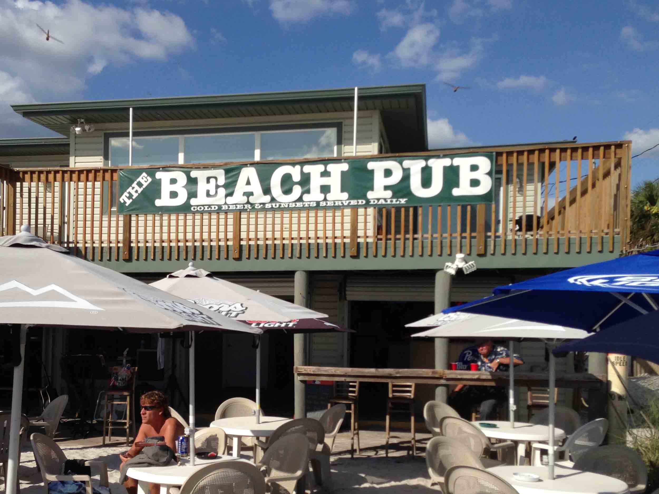 The Beach Pub Exterior