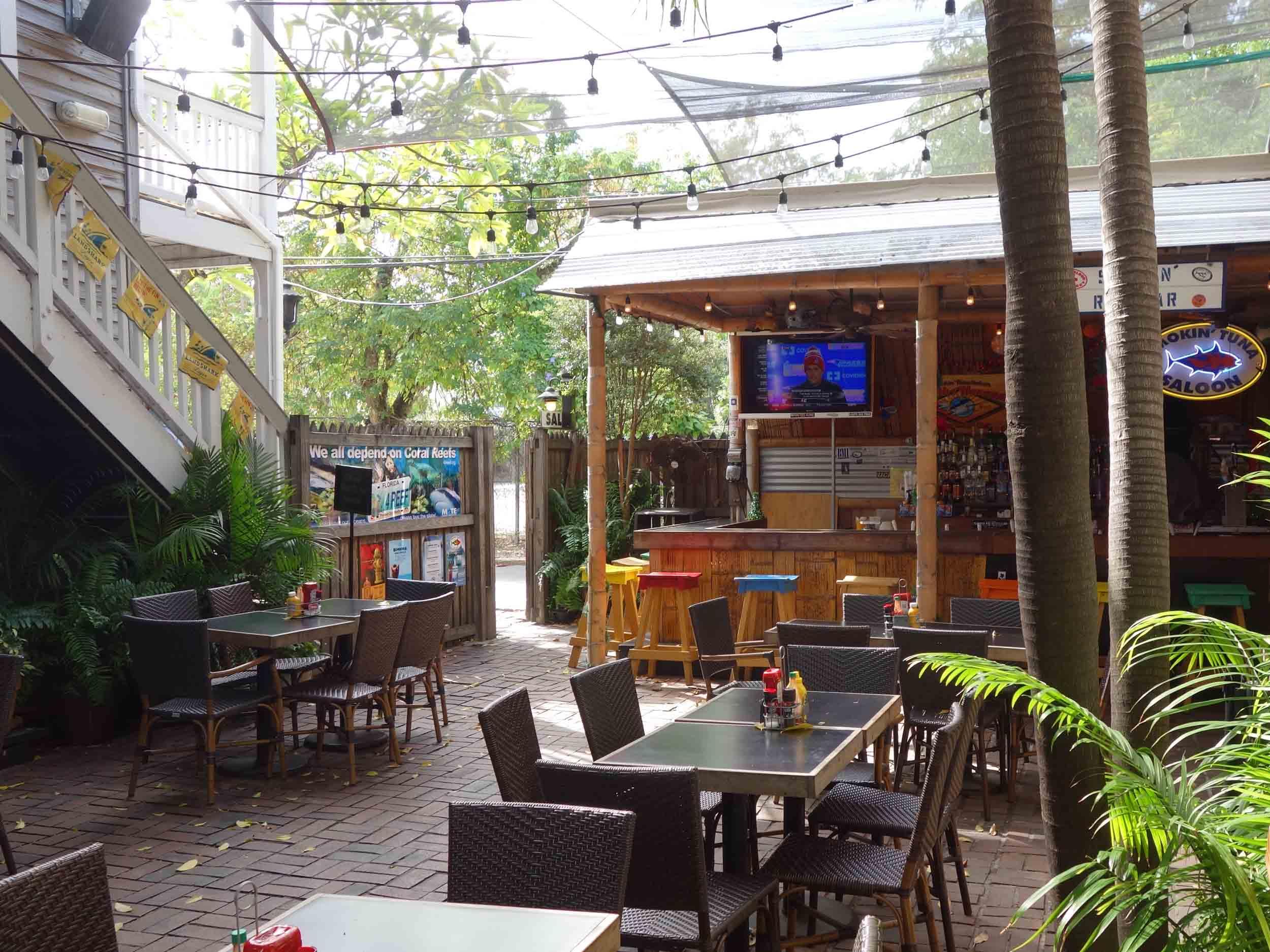 Smokin' Tuna Saloon Outdoor Seating Area