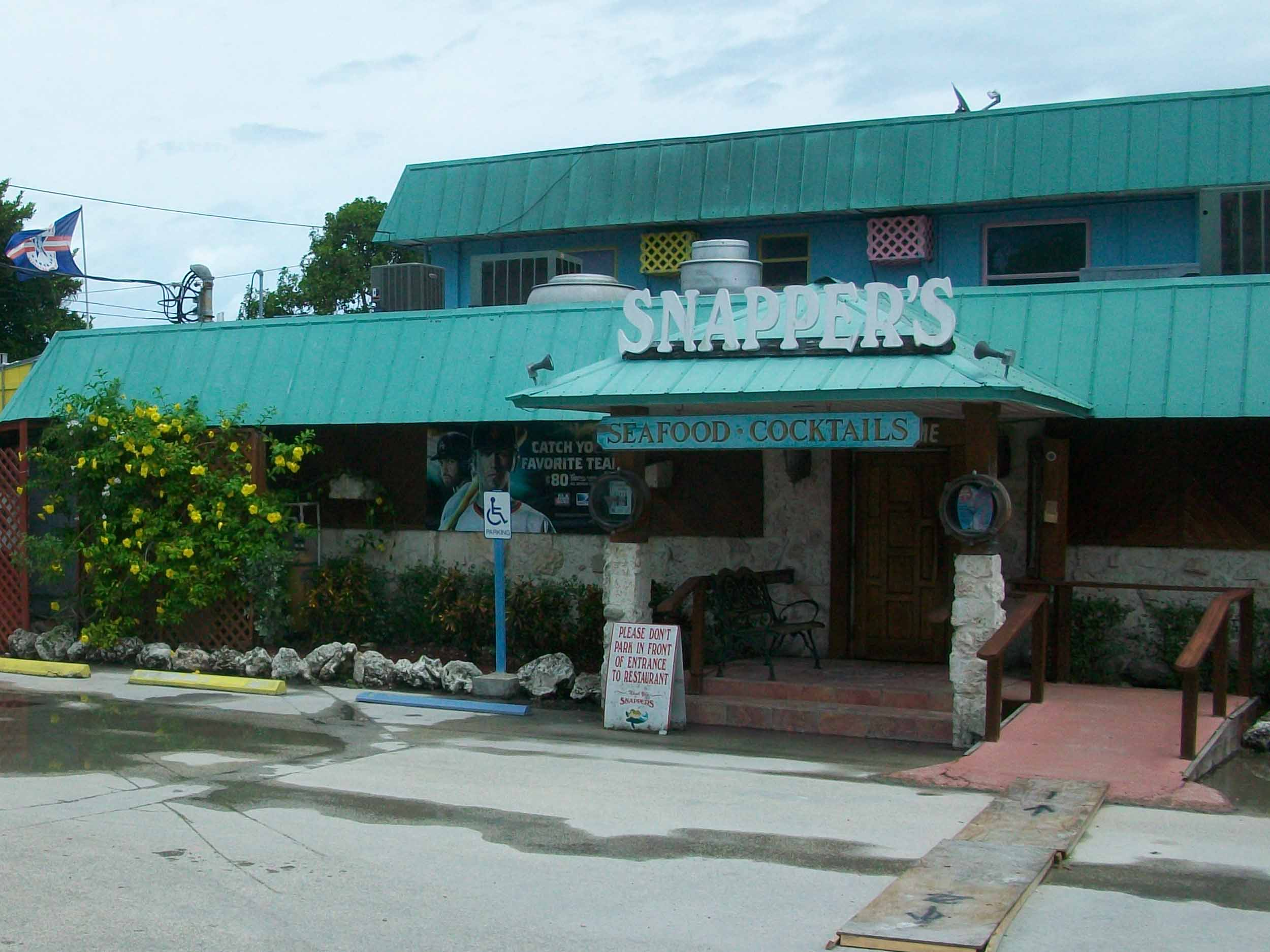 Snapper's Waterfront Restaurant Exterior