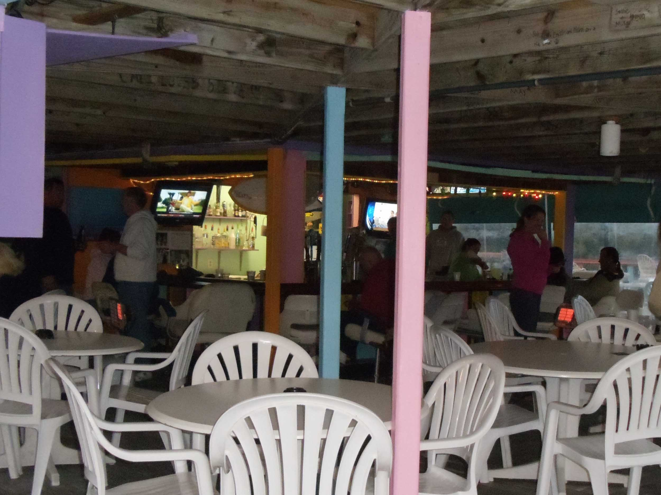 Snapper's Waterfront Restaurant Dining Area