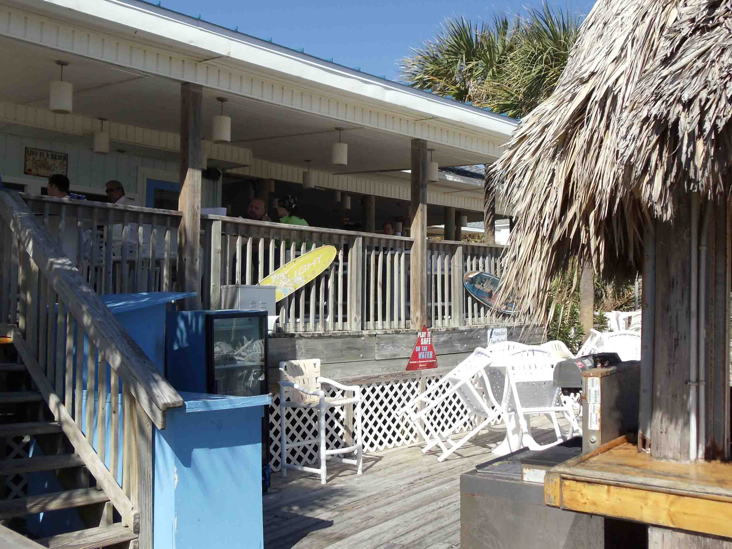 The Blue Parrot Oceanfront Cafe Patio