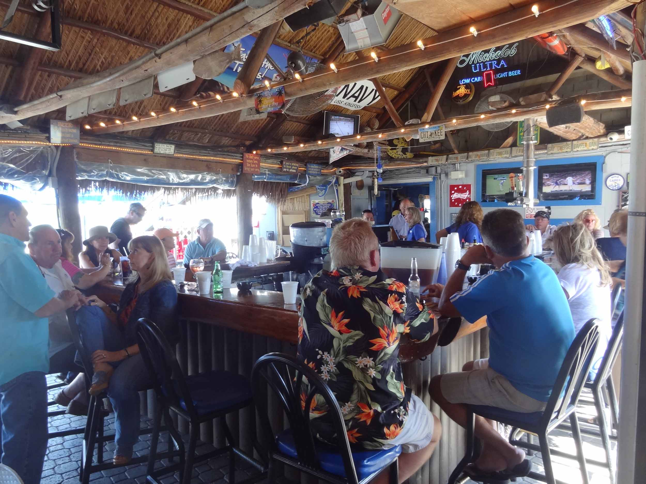 Snook Inn Bar Area