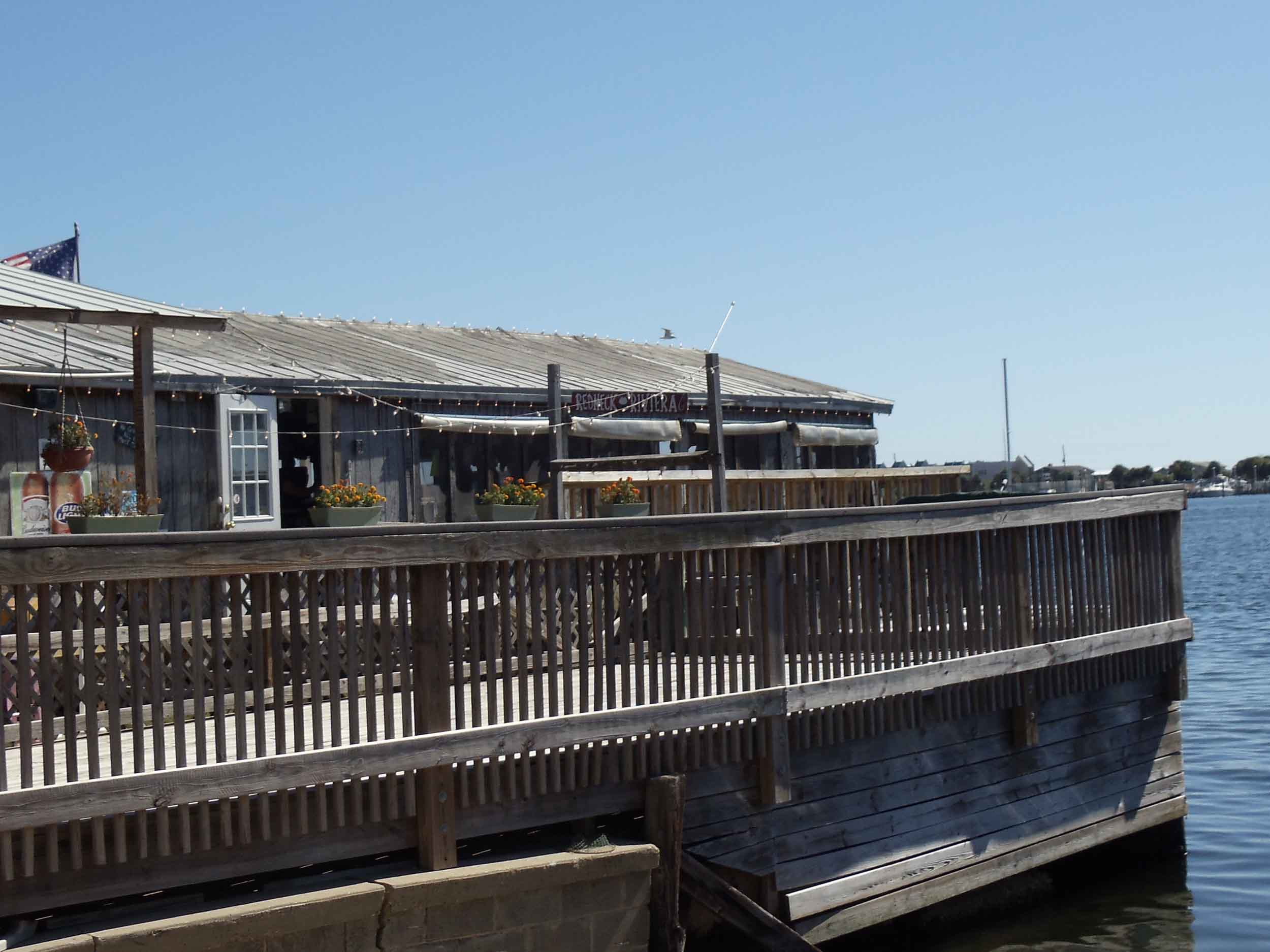 Boathouse Oyster Bar Patio