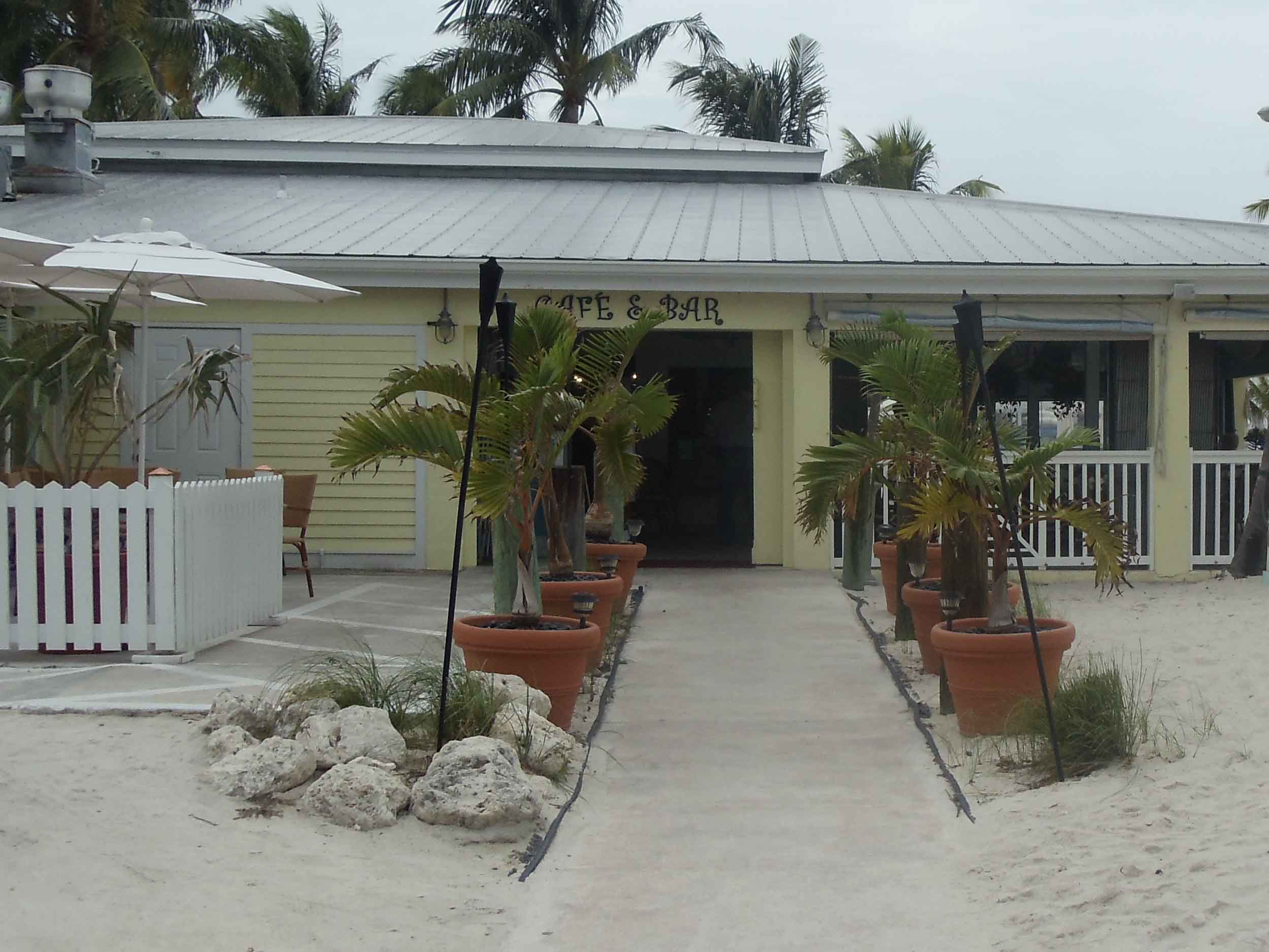 Southernmost Beach Cafe Entrance